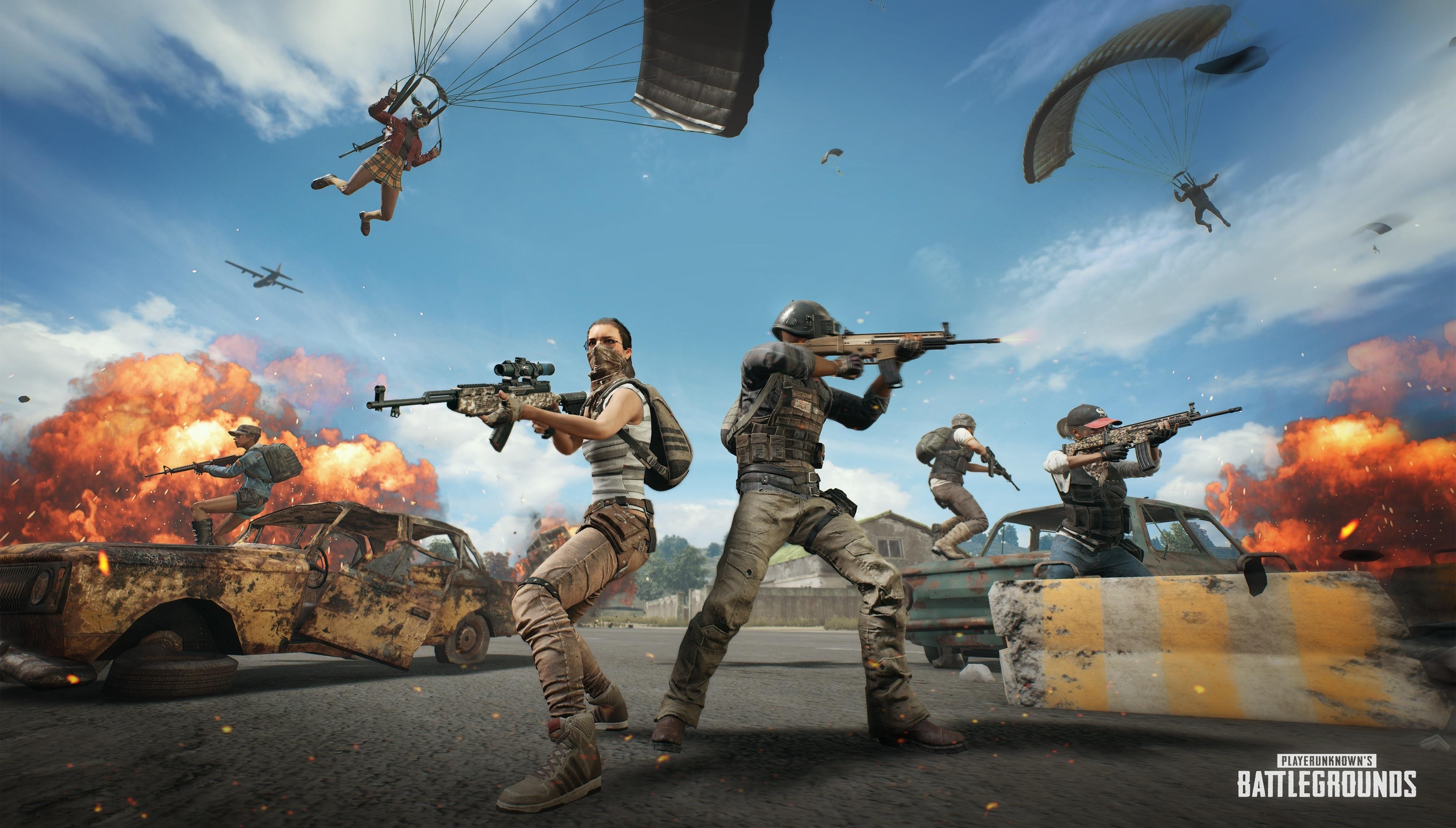 Download 3840x2400 Wallpaper Playerunknowns Battlegrounds Soldiers