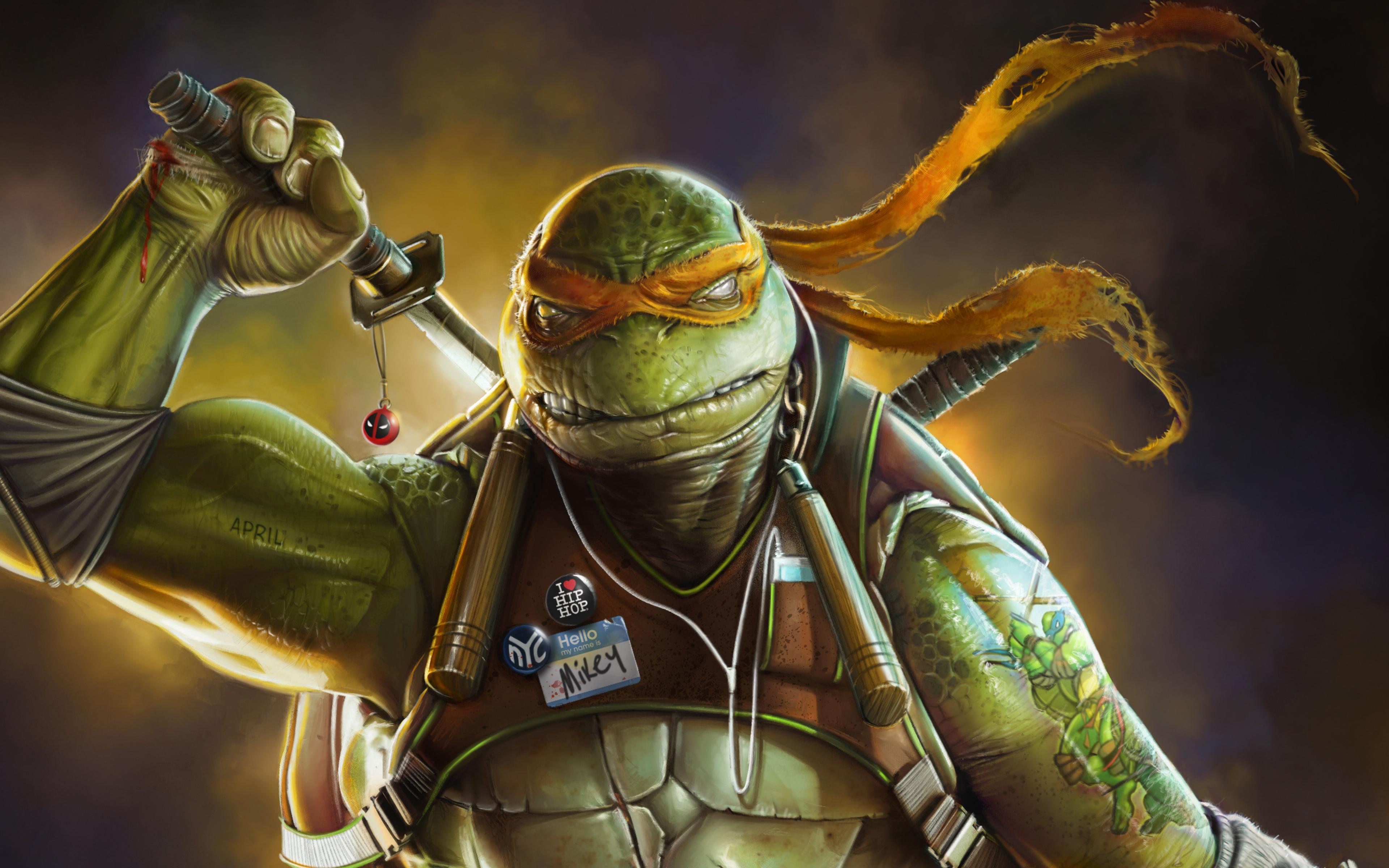 Download 3840x2400 Wallpaper Teenage Mutant Ninja Turtles Turtles