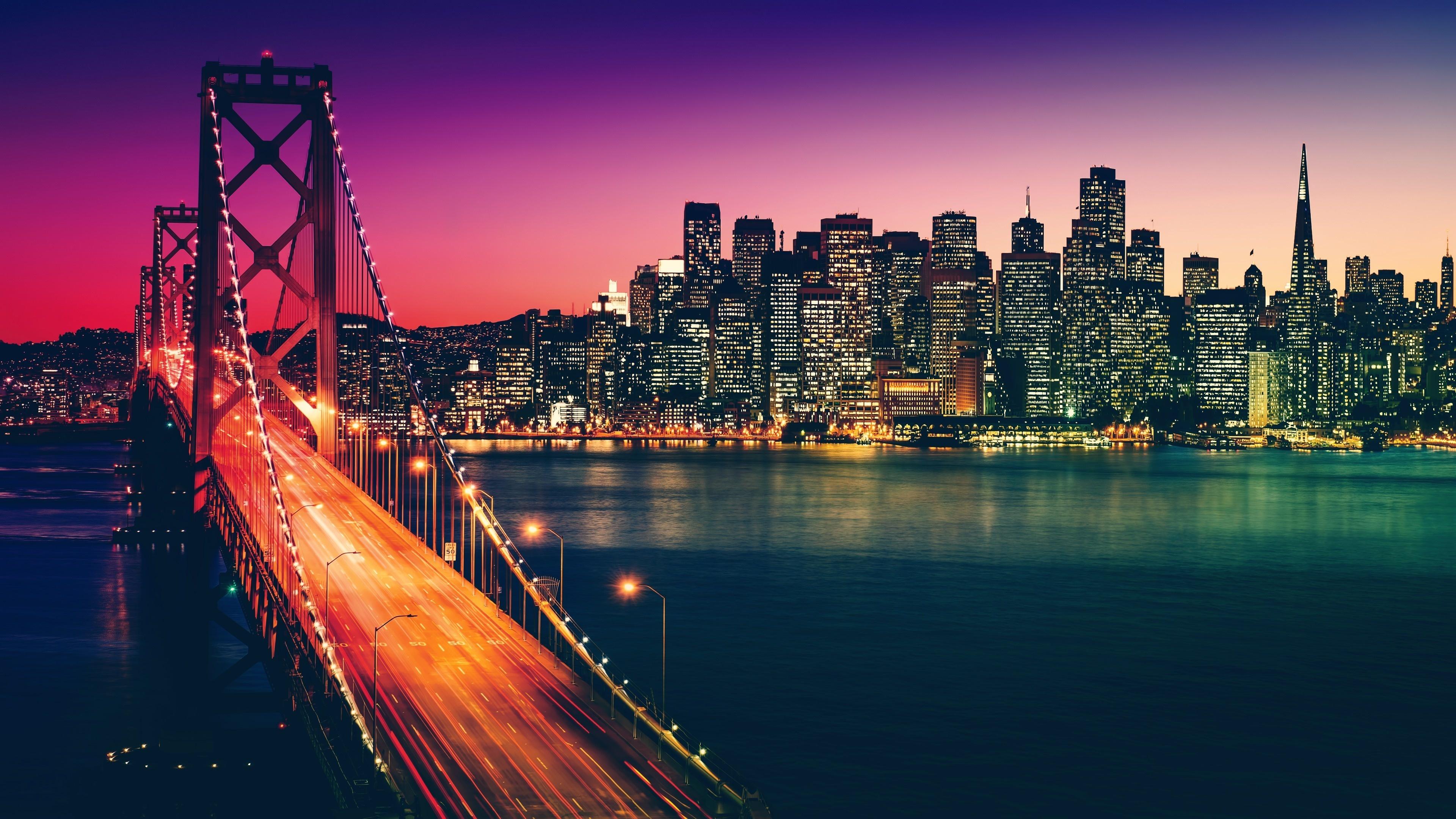 Download 3840x2400 Wallpaper San Francisco City Buildings