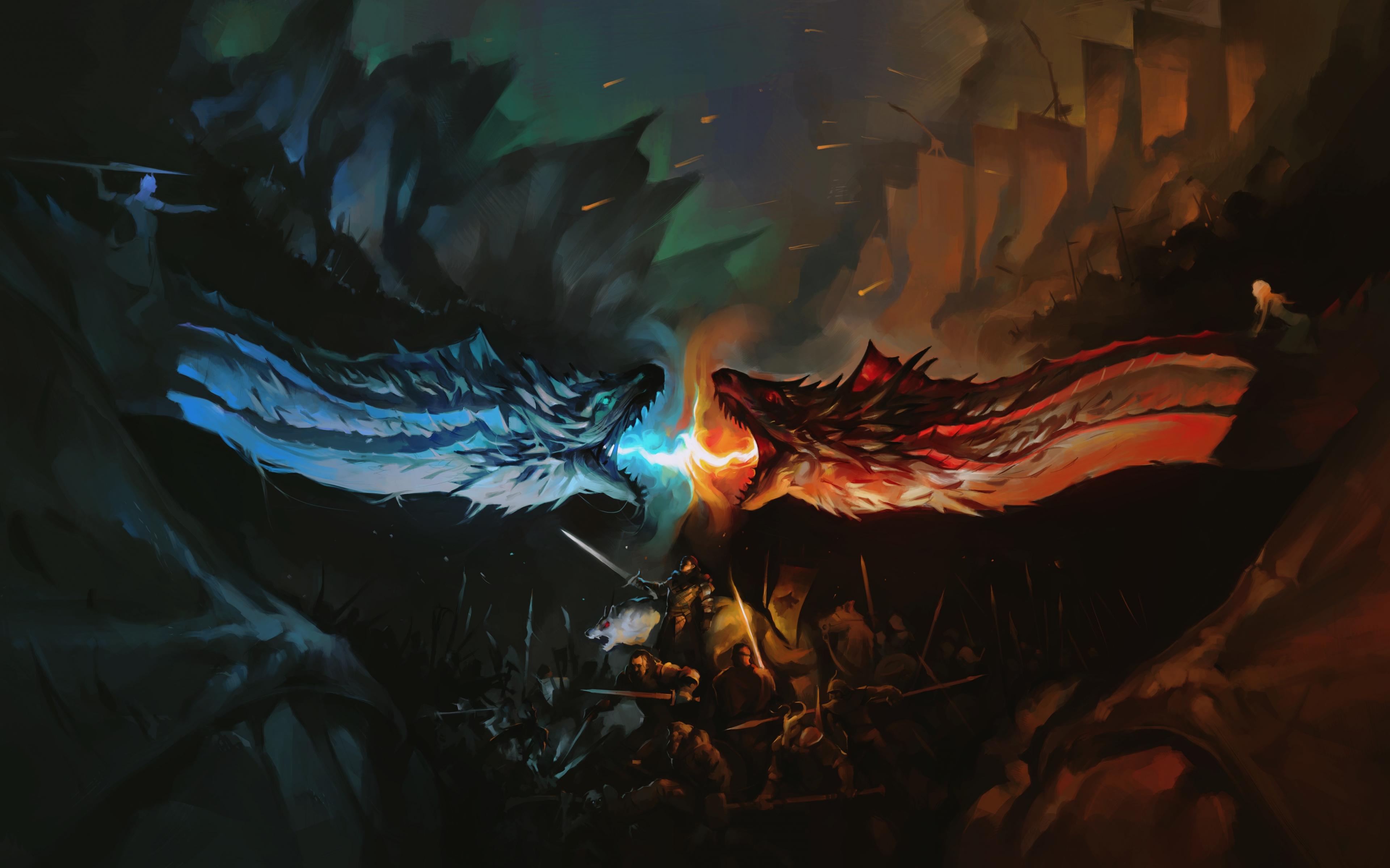 Download 3840x2400 Wallpaper Game Of Thrones, Tv Series