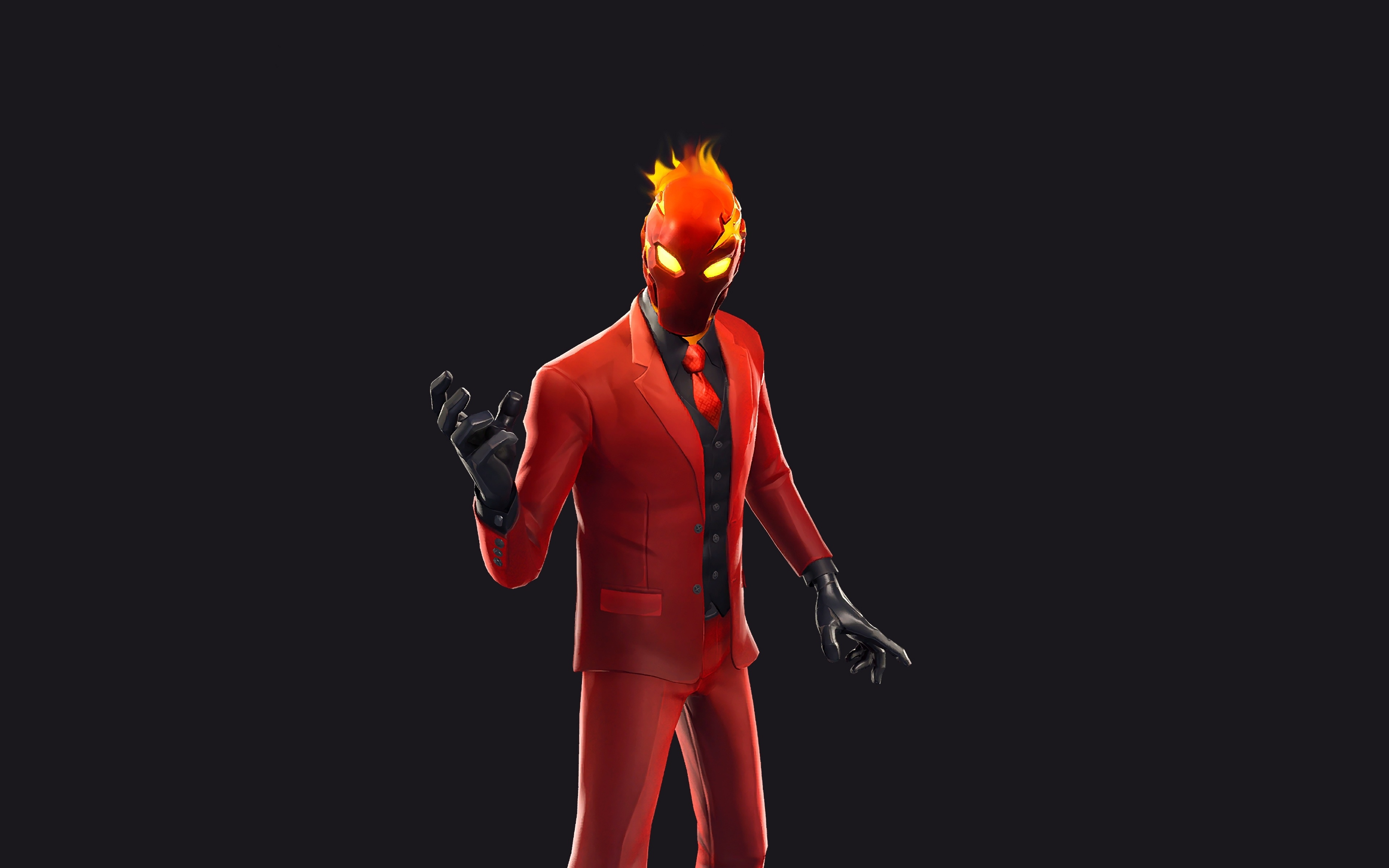 Download 3840x2400 Wallpaper Game 2019 Red Suit Inferno