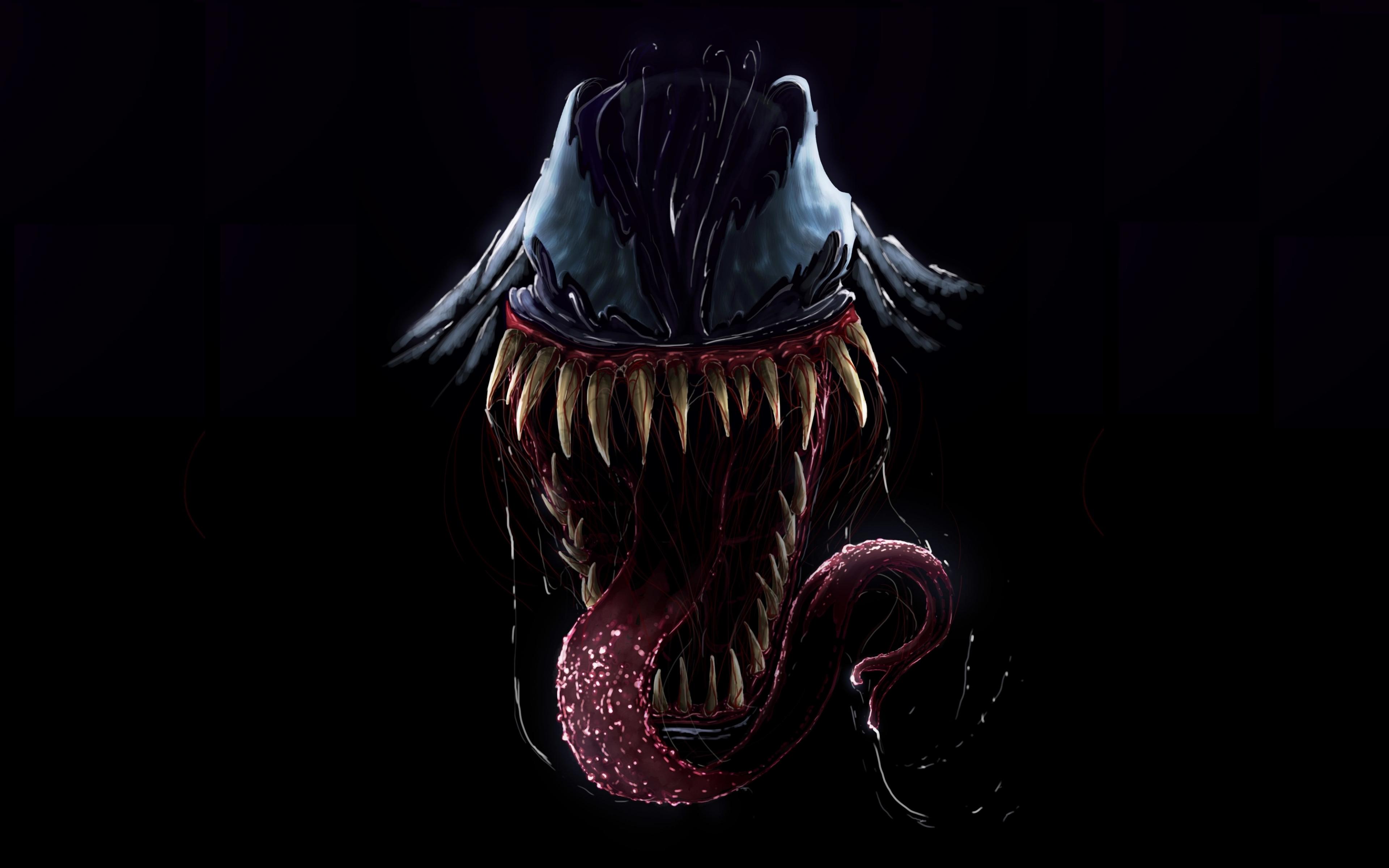 Download 3840x2400 Wallpaper Artwork Villain Venom 4k Ultra Hd