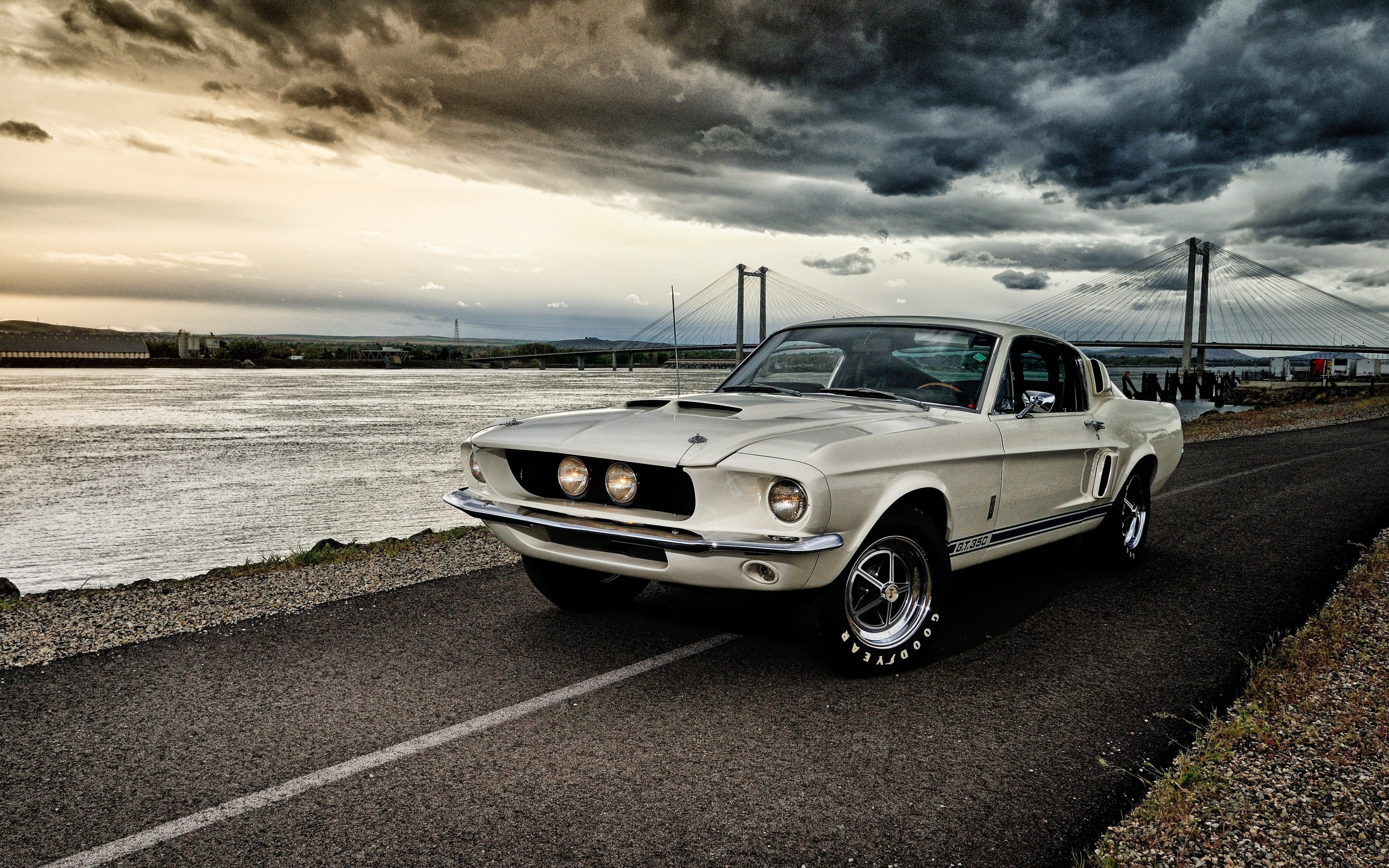Download 3840x2400 wallpaper 1967 ford mustang shelby ...