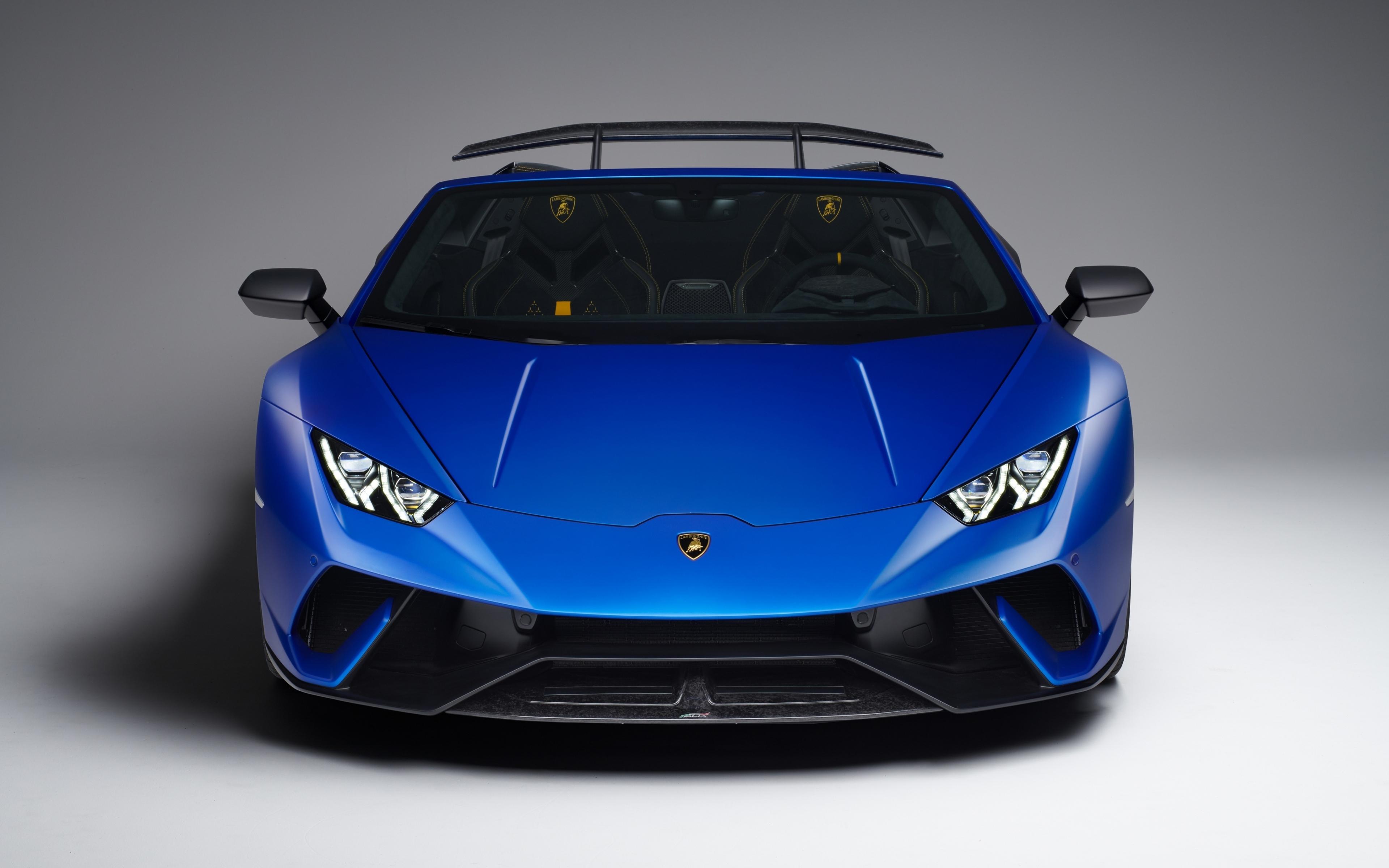 Download 3840x2400 Wallpaper Lamborghini Huracan Performante Spyder