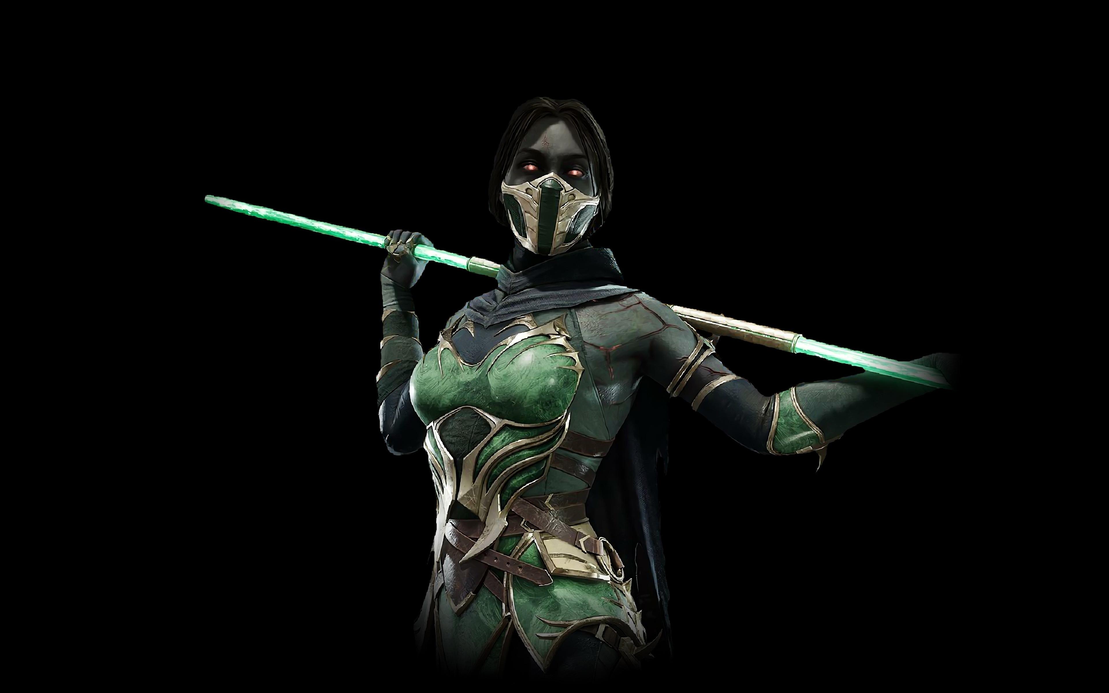 Download 3840x2400 Wallpaper Fighter K Jade Video Game Mortal