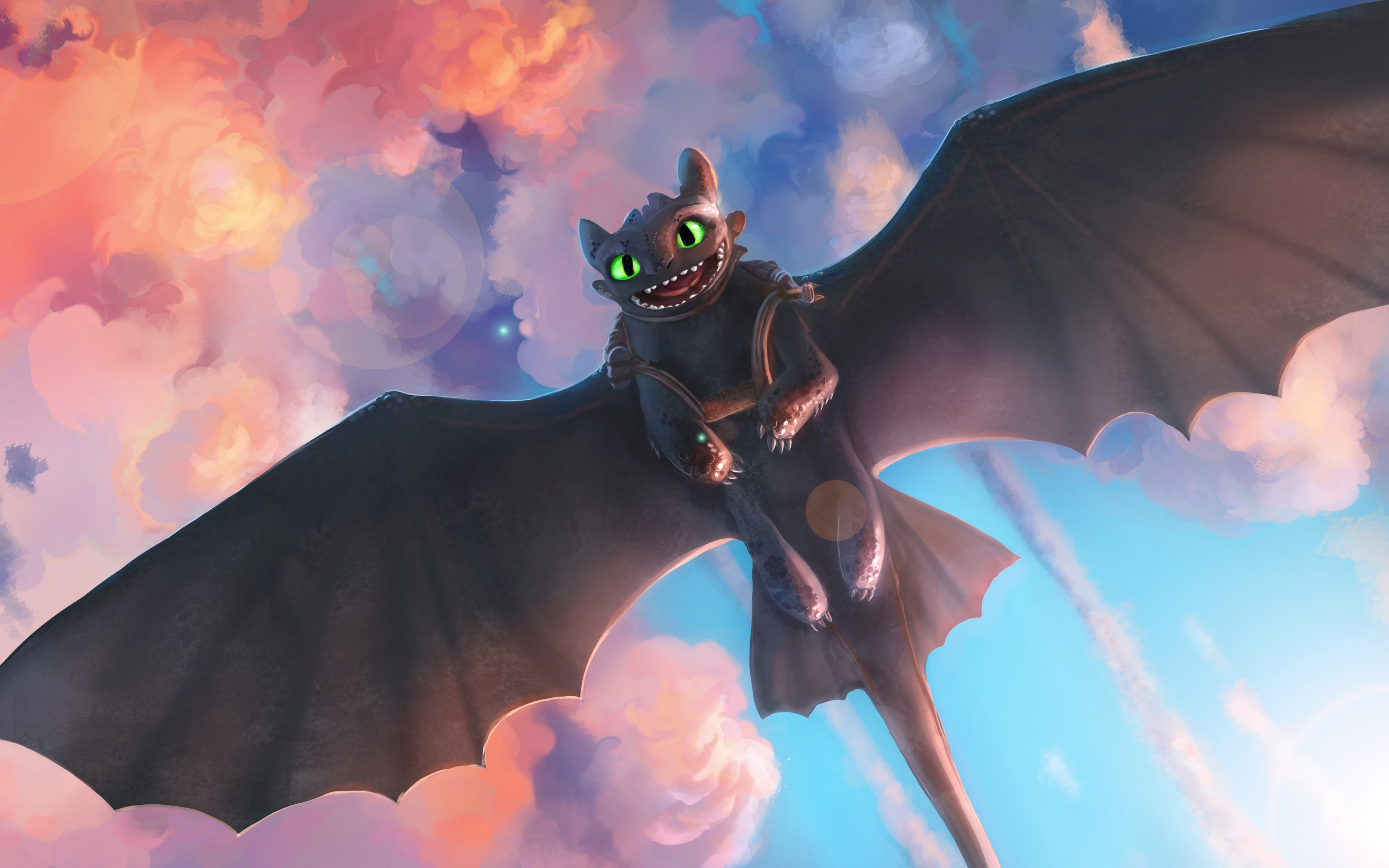 Download 3840x2400 Wallpaper Movie Toothless Night Fury Dragon How To Train Your Dragon 4k Ultra Hd 16 10 Widescreen 3840x2400 Hd Image Background 15177