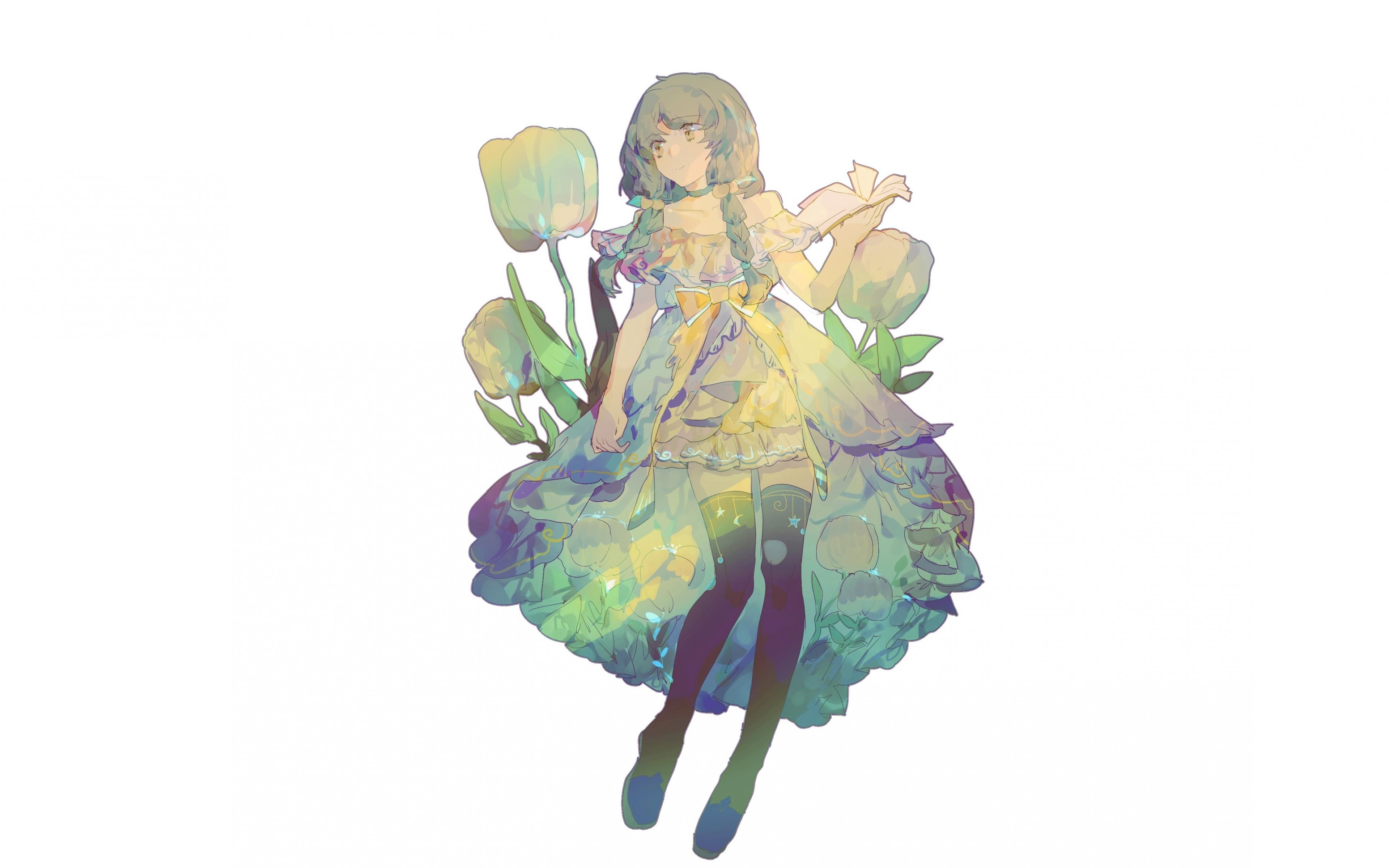 Download 3840x2400 Wallpaper Artwork Beautiful And Cute Anime Girl 4k Ultra Hd 16 10 Widescreen 3840x2400 Hd Image Background 6632