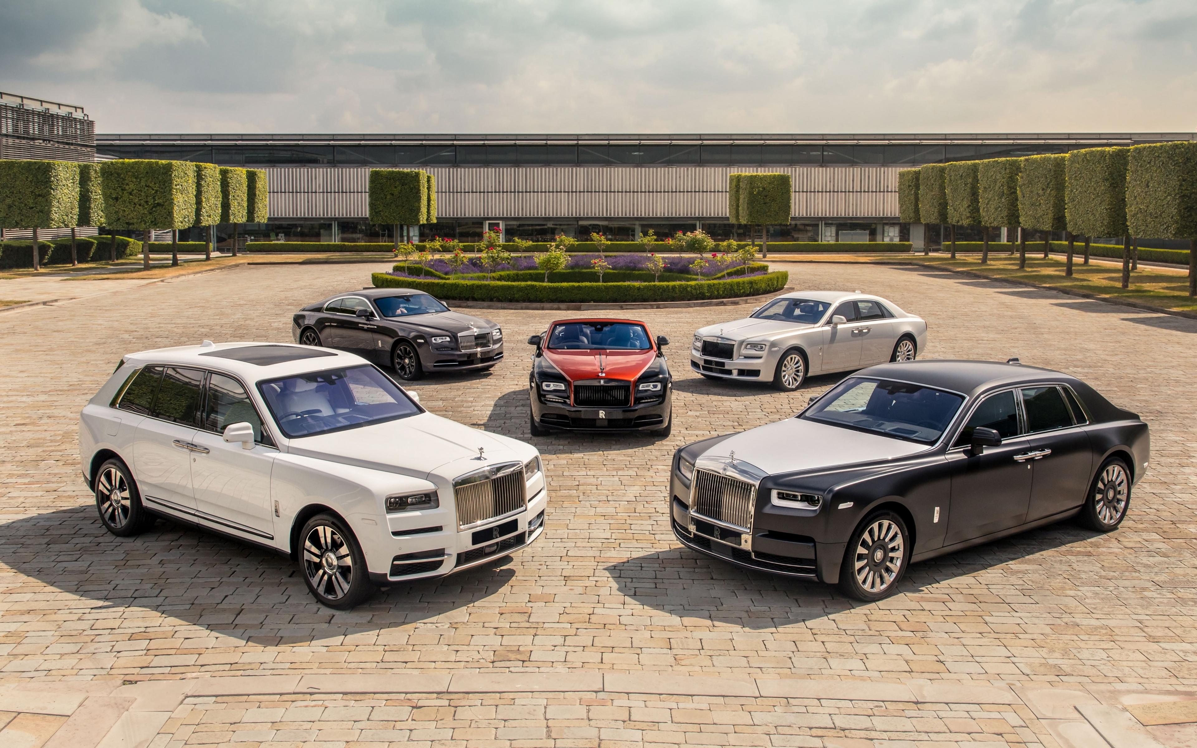 Download 3840x2400 Wallpaper Rolls Royce Ghost Rolls Royce