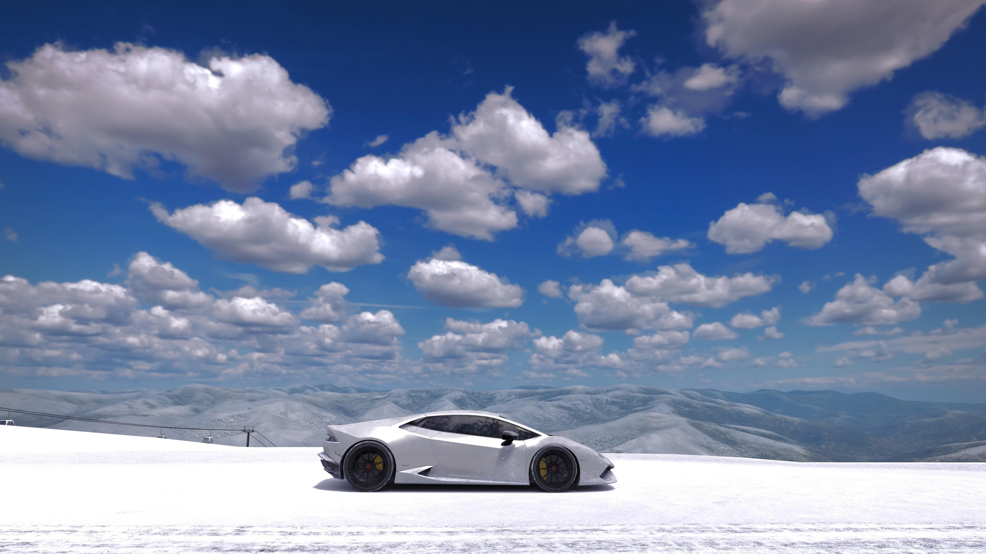 Forza Motorsport 7 Video Game Sports Car Landscape 3840x2400 Wallpaper