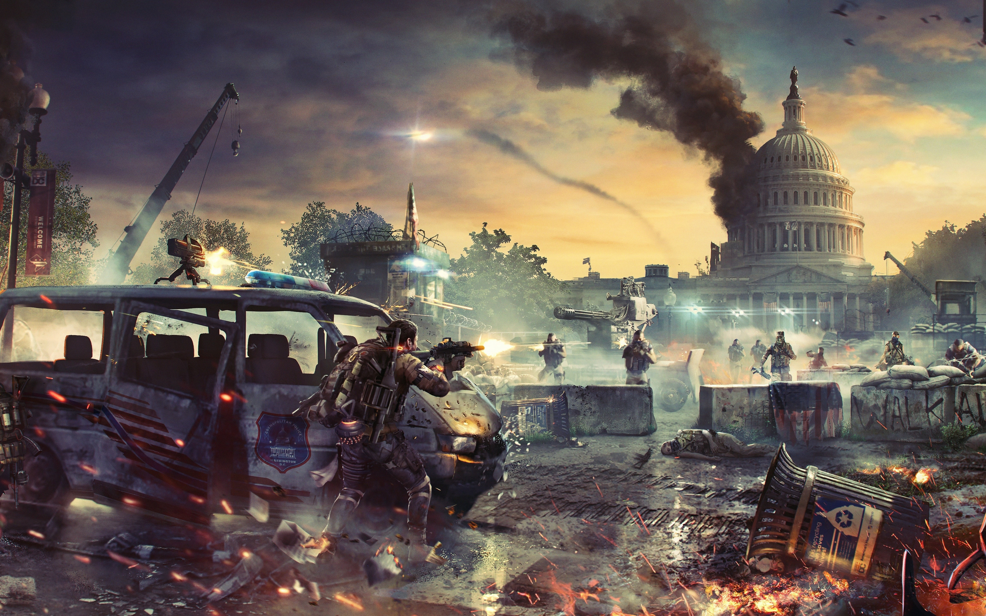 Download 3840x2400 wallpaper tom clancy's the division 2 ...