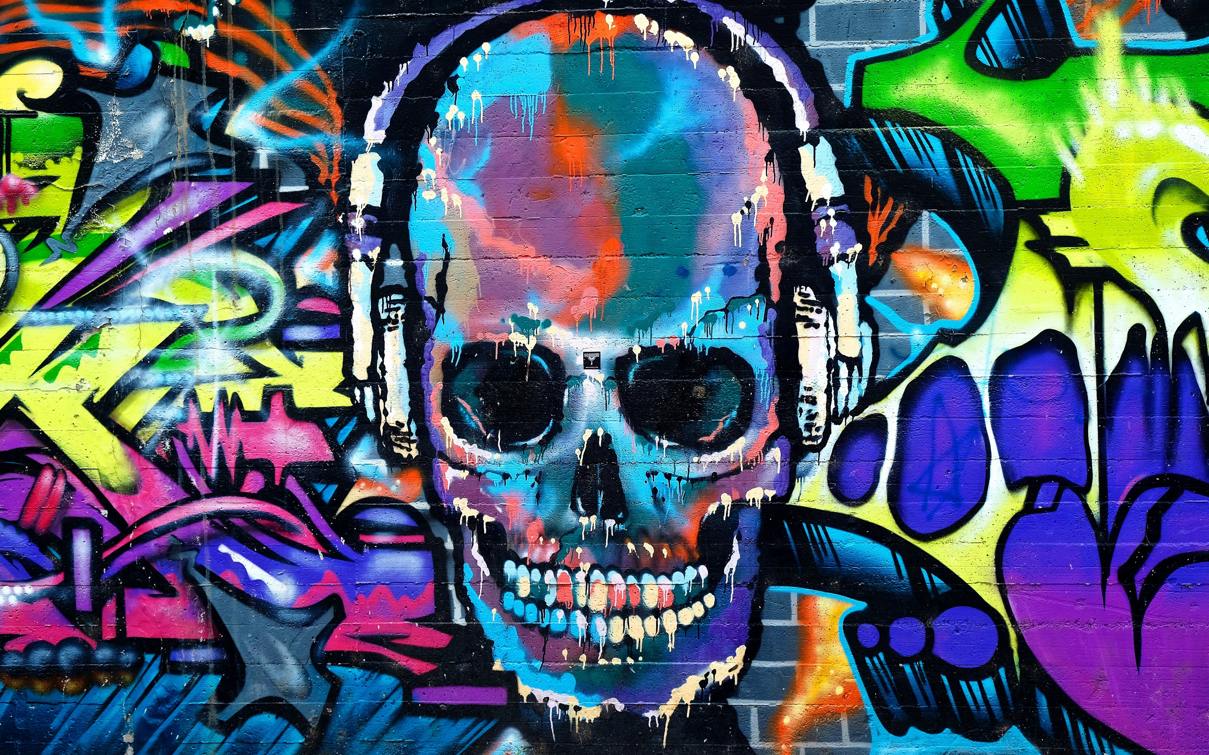 Abstract Graffiti Wallpapers on