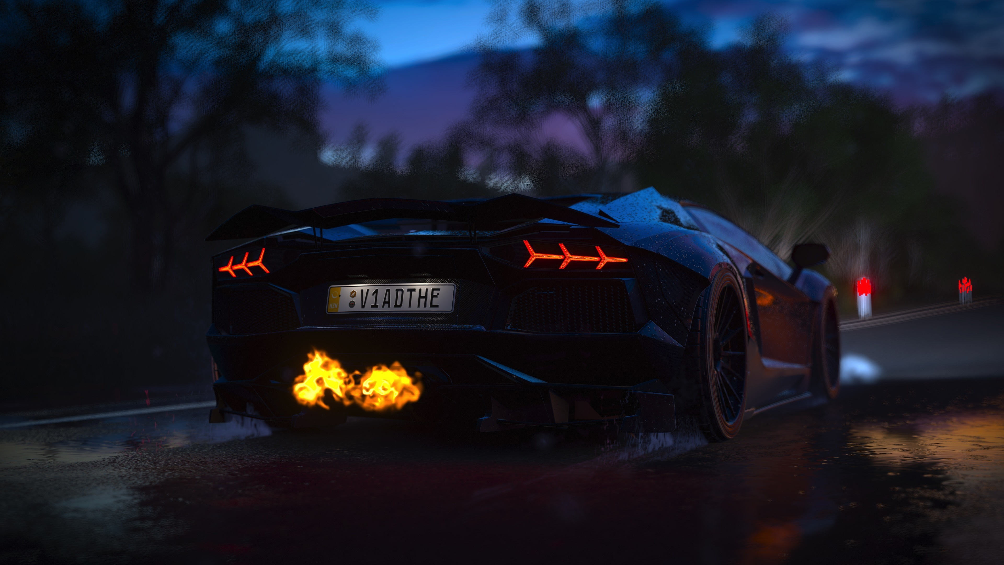 Download 3840x2400 Wallpaper Forza Horizon 3 Lamborghini