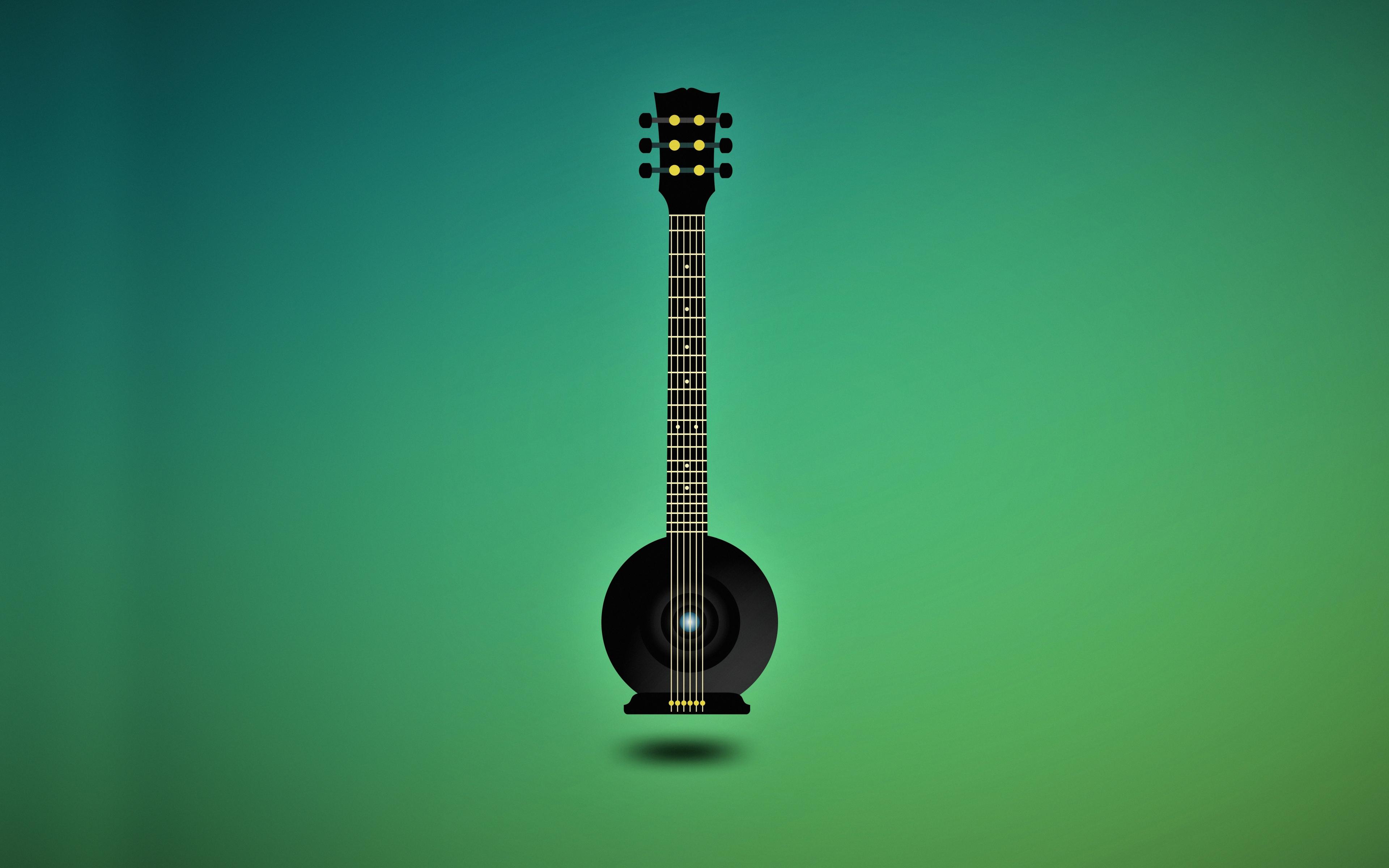 Download 3840x2400 Wallpaper Music Guitar Minimal Art 4k Ultra Hd 16 10 Widescreen 3840x2400 Hd Image Background 16757