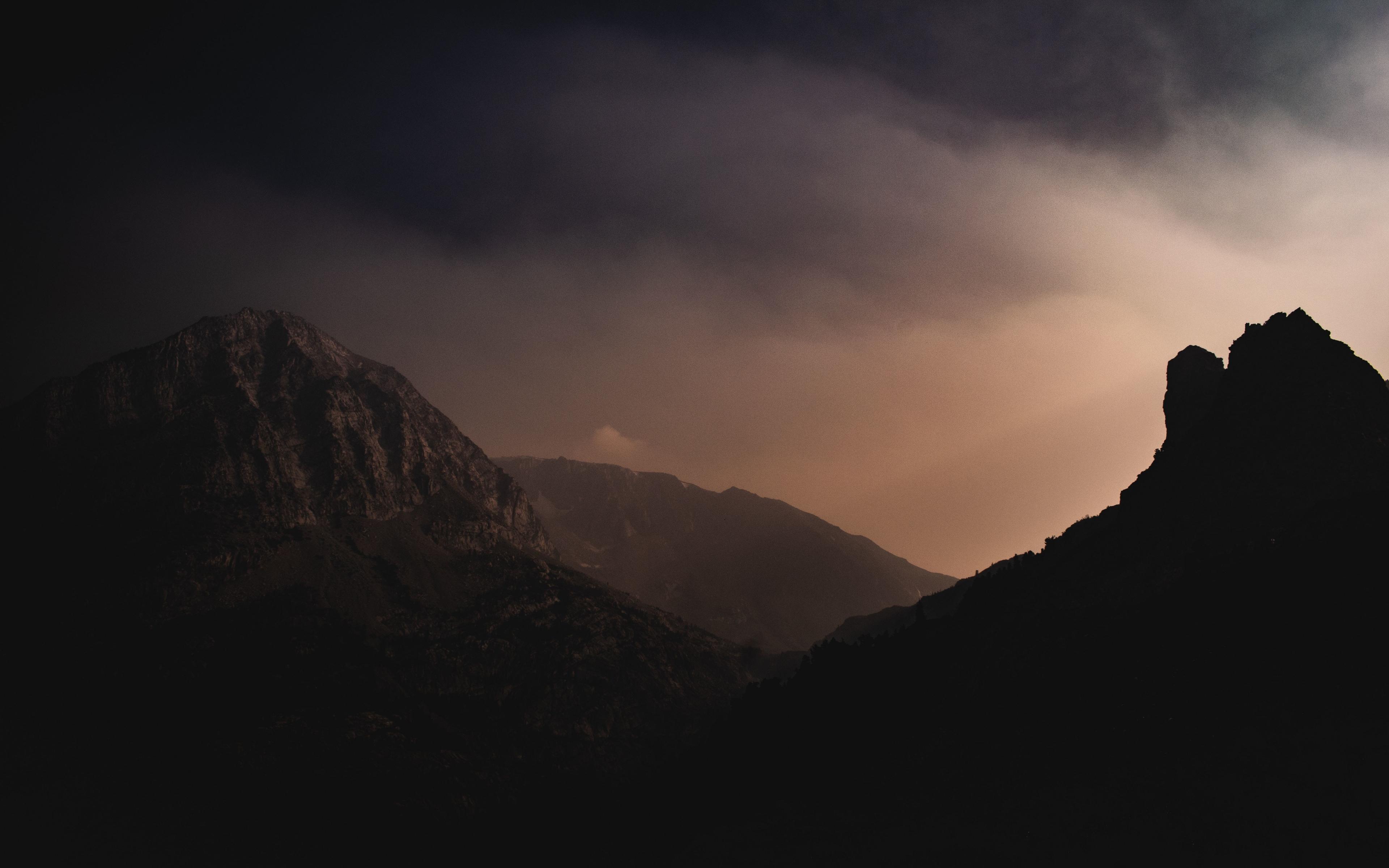 Download 3840x2400 Wallpaper Tioga Pass Yosemite Valley Dark