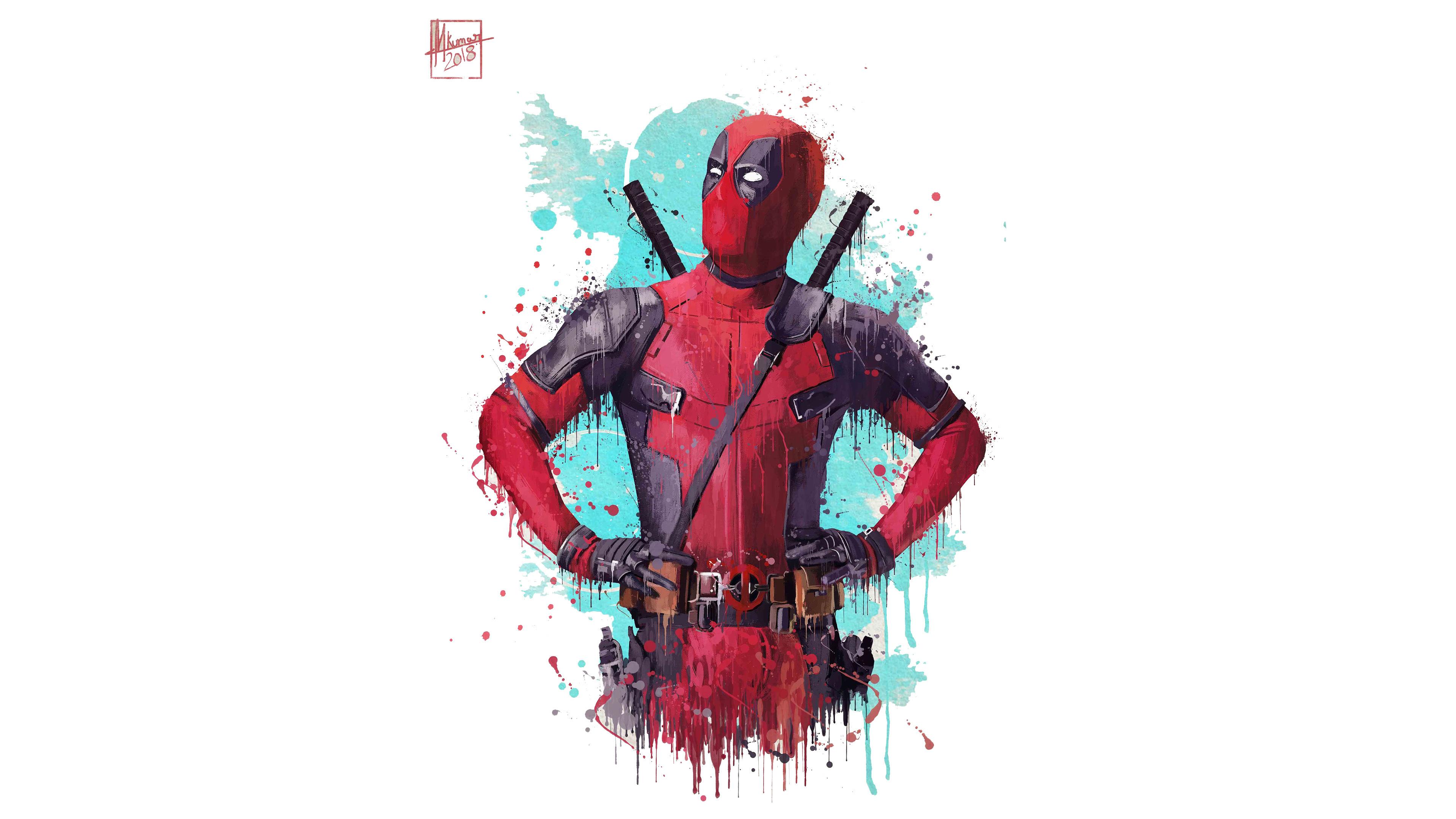 Download 3840x2400 Wallpaper Deadpool 2 2018 Movie Fan
