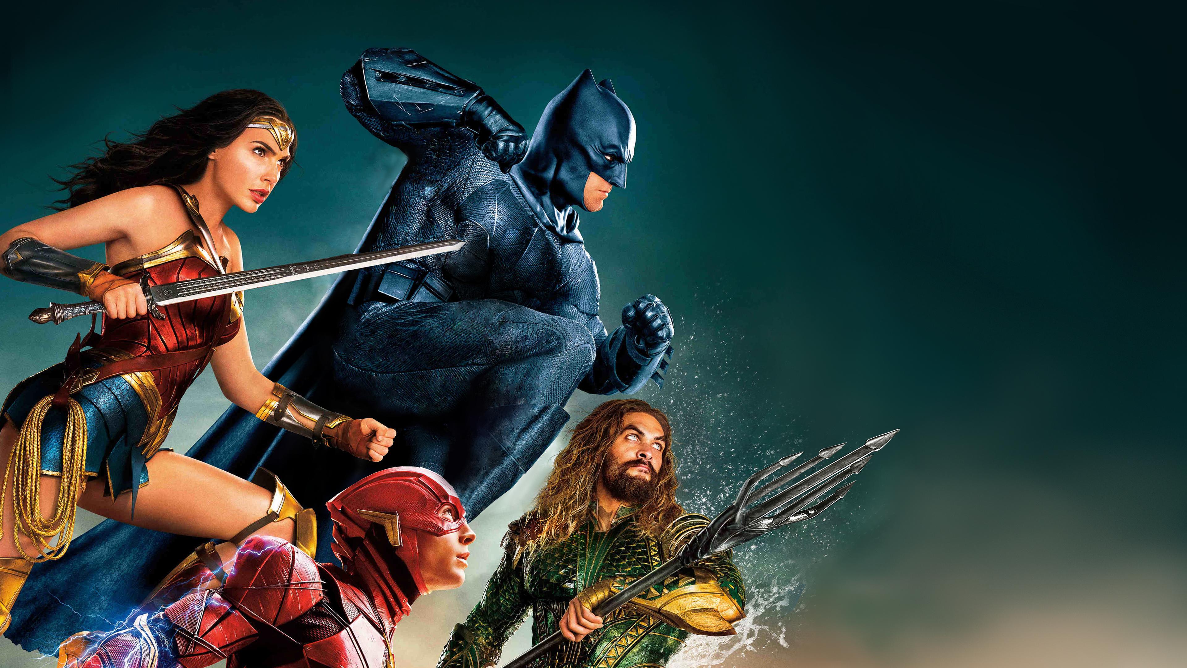 Justice league, movie, superheroes, 3840x2400 wallpaper
