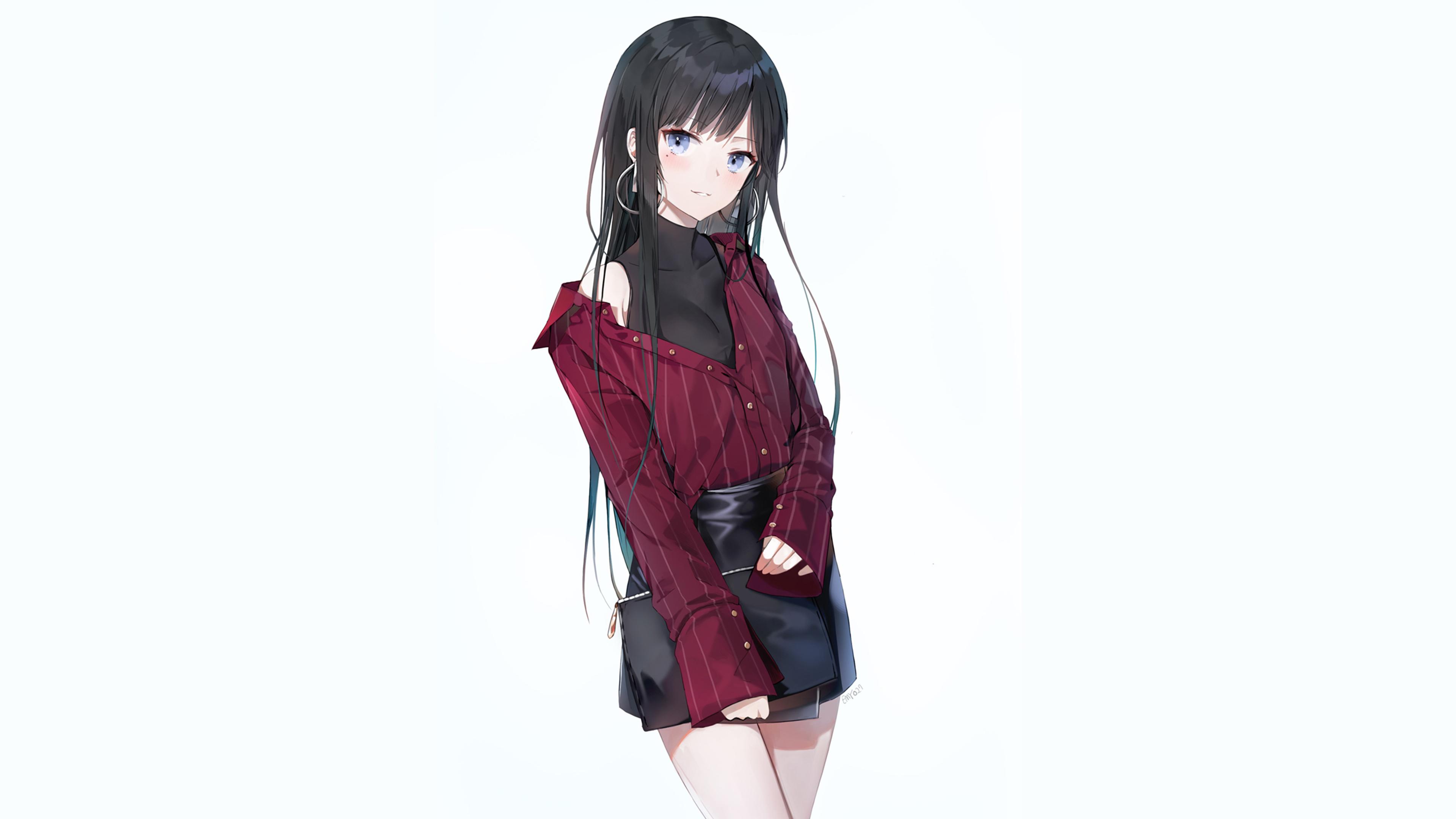 Download 3840x2400 Wallpaper Original Anime Girl Cute Smile 4k Ultra Hd 16 10 Widescreen 3840x2400 Hd Image Background 7319