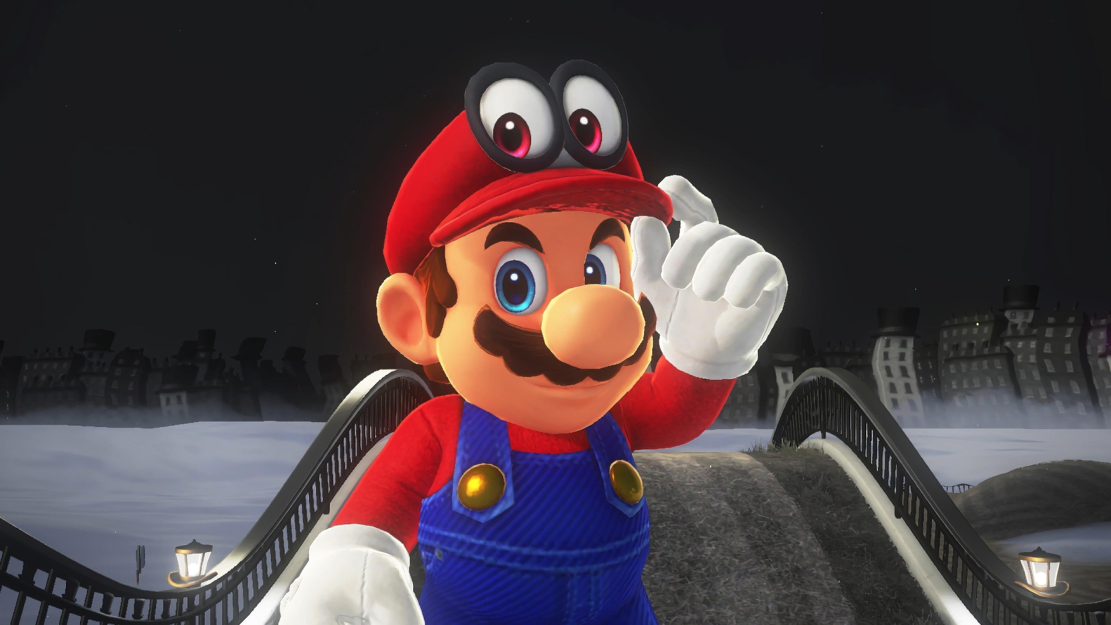 Download 3840x2400 Wallpaper Mario Super Mario Odyssey Video Game