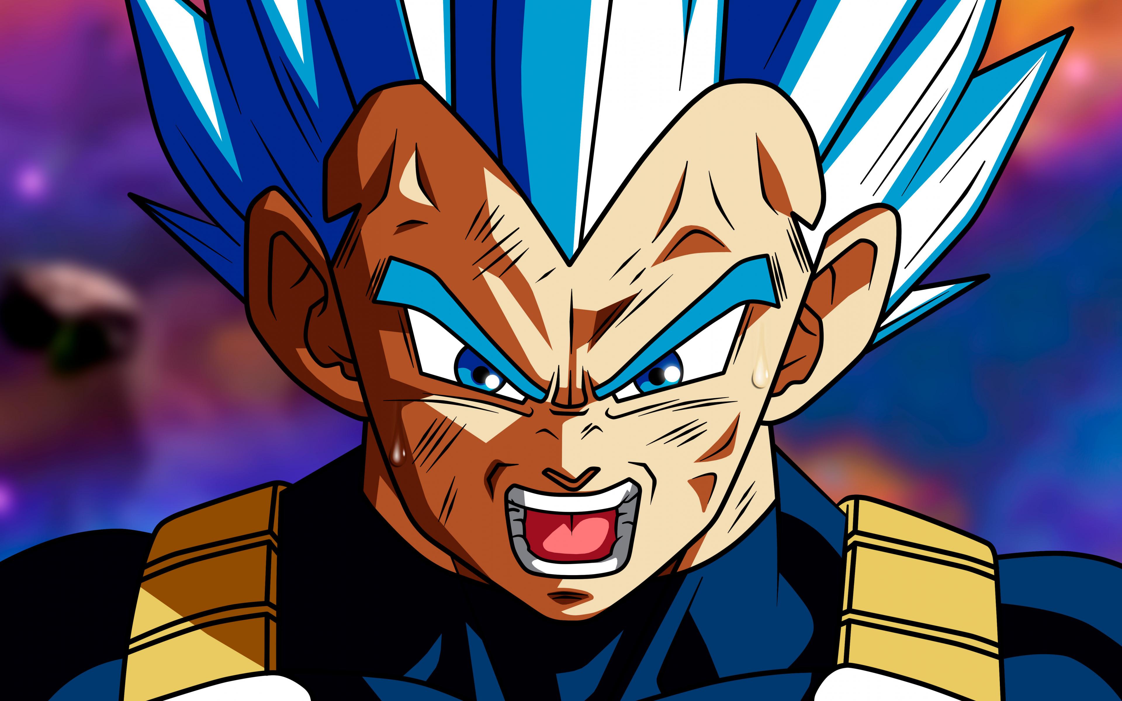 Download 3840x2400 wallpaper anime boy dragon ball super - Vegeta wallpaper 4k for pc ...