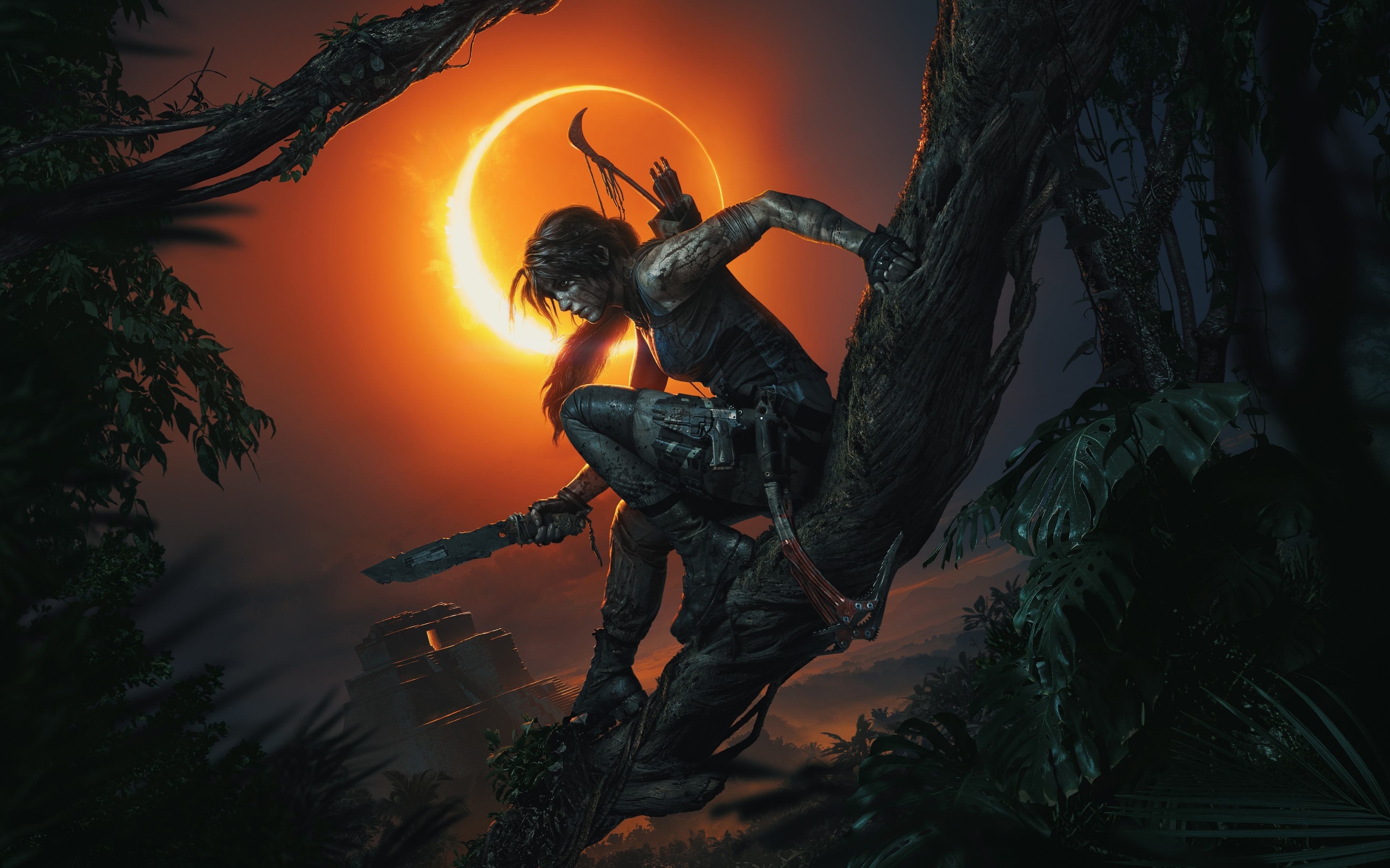 Download 3840x2400 Wallpaper Shadow Of The Tomb Raider