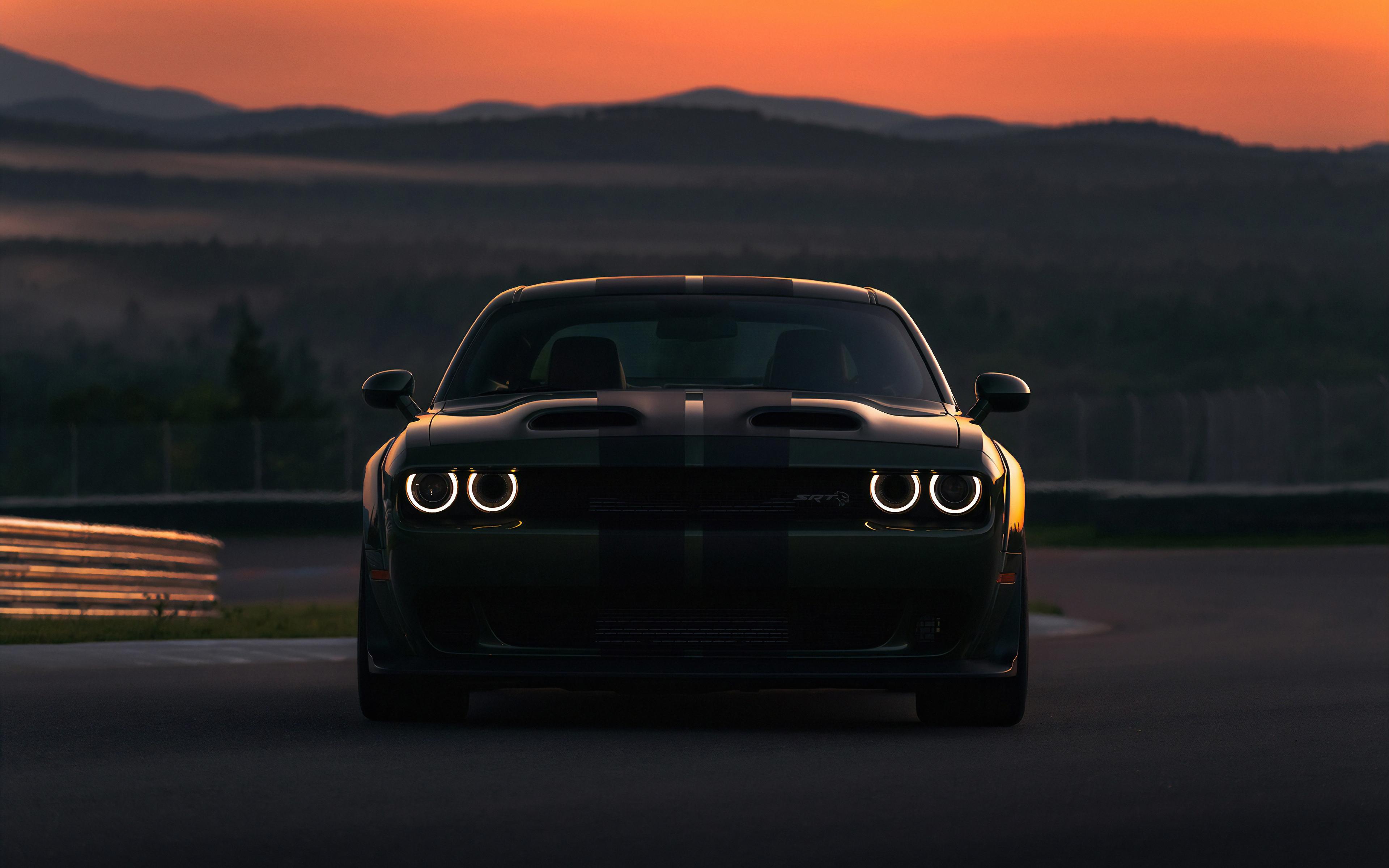Download 3840x2400 Wallpaper Dodge Charger Srt Hellcat Dark
