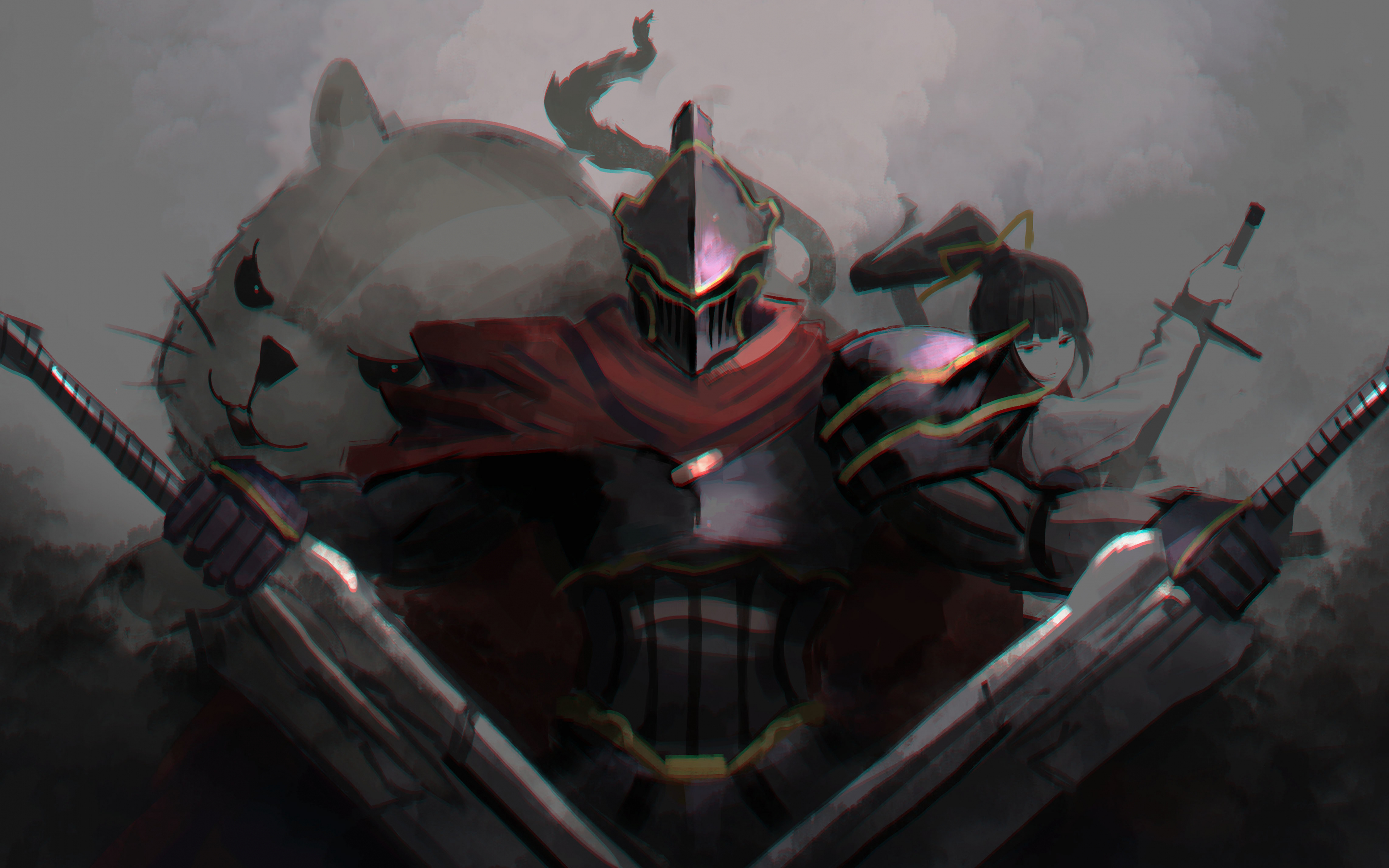 Downaload Overlord King And Warriors Art Wallpaper: Download 3840x2400 Wallpaper Overlord, Anime, Armour Suit