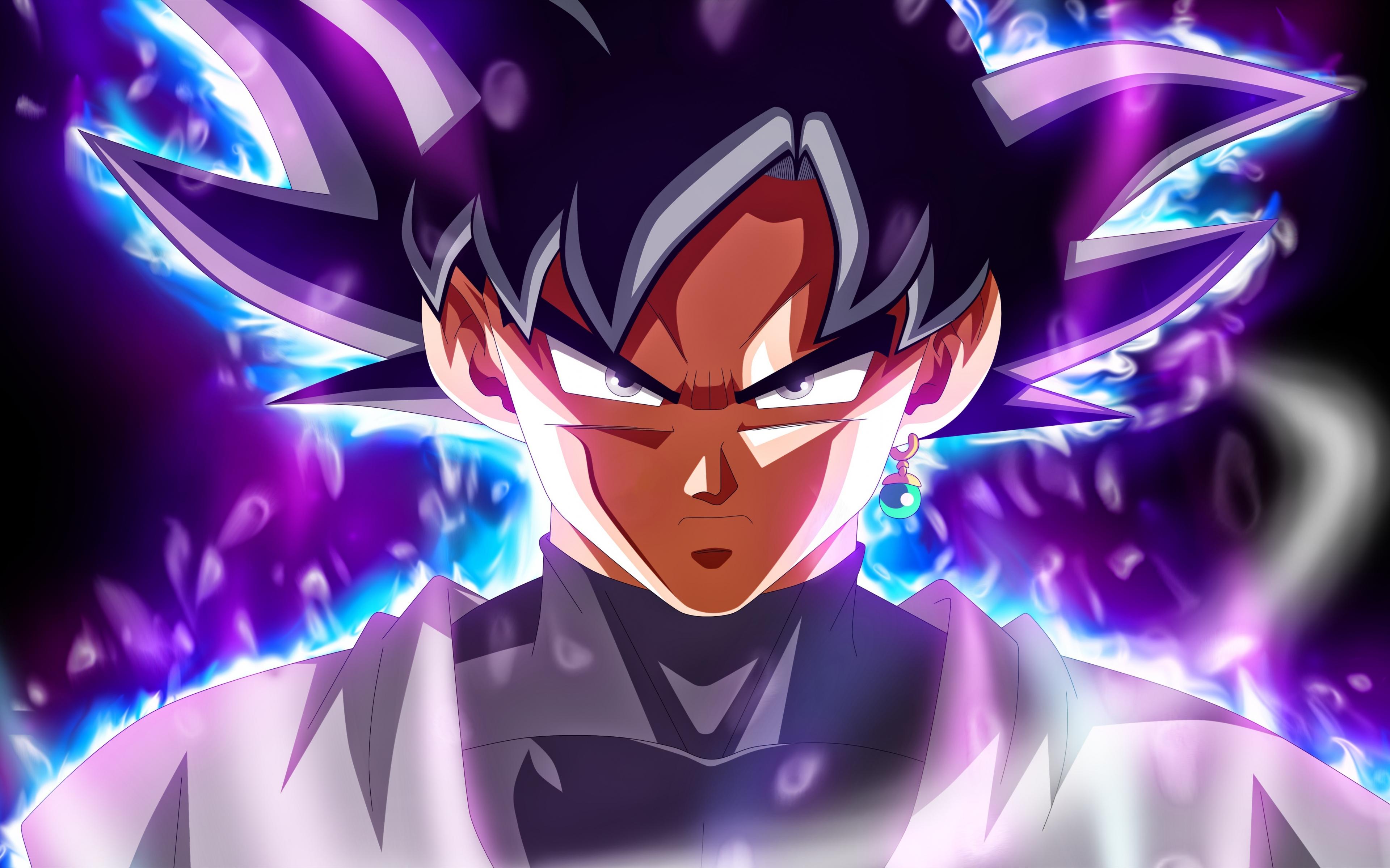 Ultra Instinct Goku Wallpaper 4k: Download 3840x2400 Wallpaper Ultra Instinct, Dragon Ball