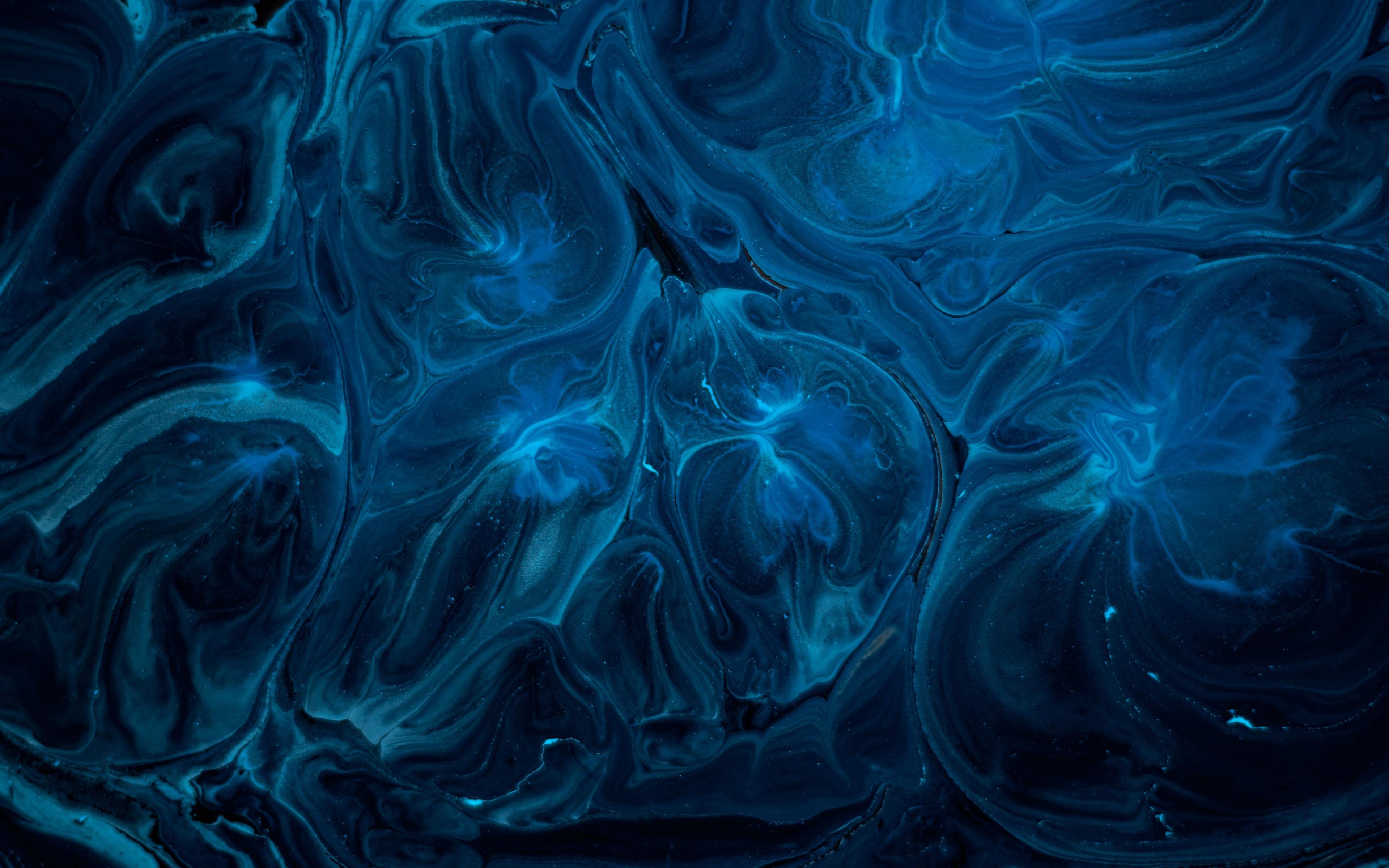 Download 3840x2400 wallpaper blue, texture, artwork, 4k, ultra hd ...