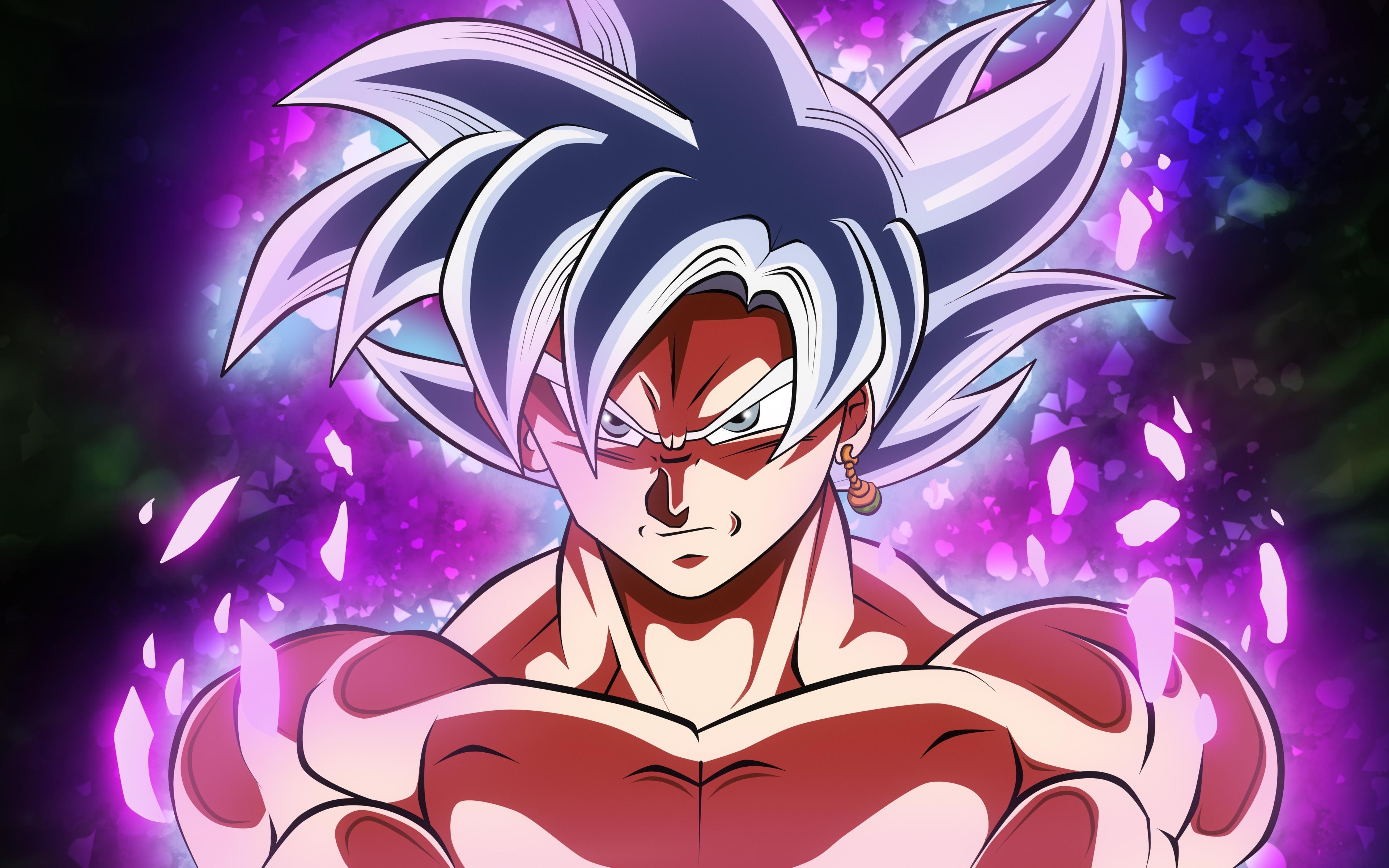 Download 3840x2400 Wallpaper Goku Black White Hair Dragon Ball Super 4k Ultra Hd 16 10 Widescreen 3840x2400 Hd Image Background 8708