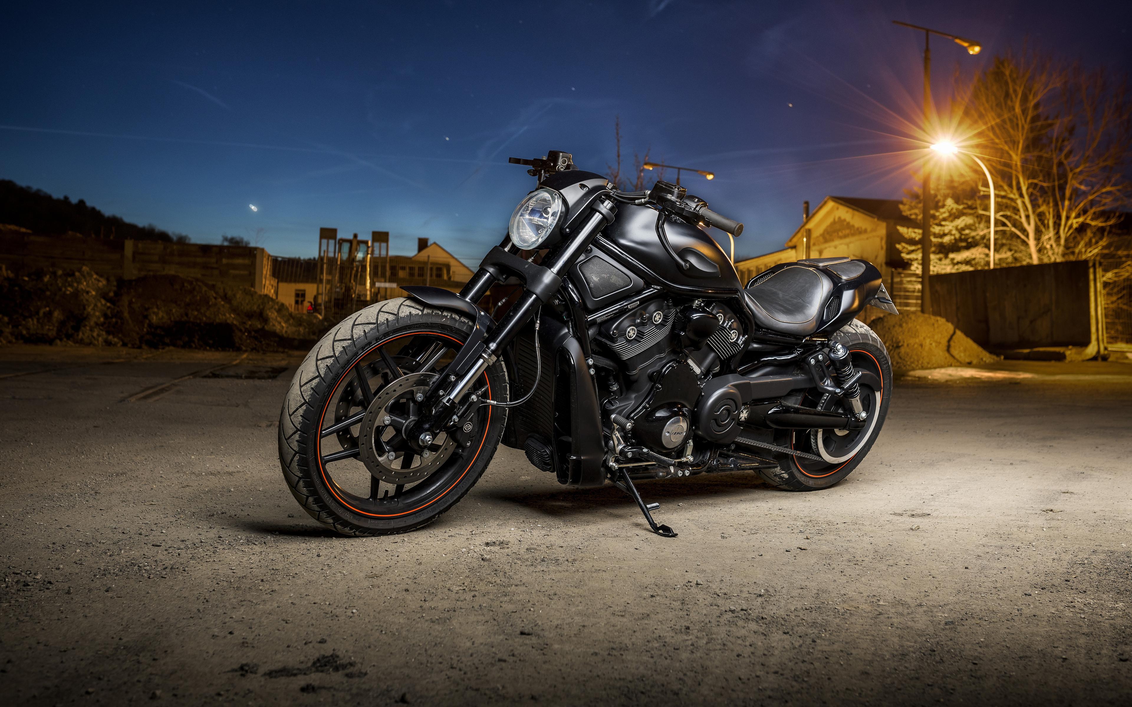 Download 3840x2400 wallpaper harley davidson, muscle bike ...