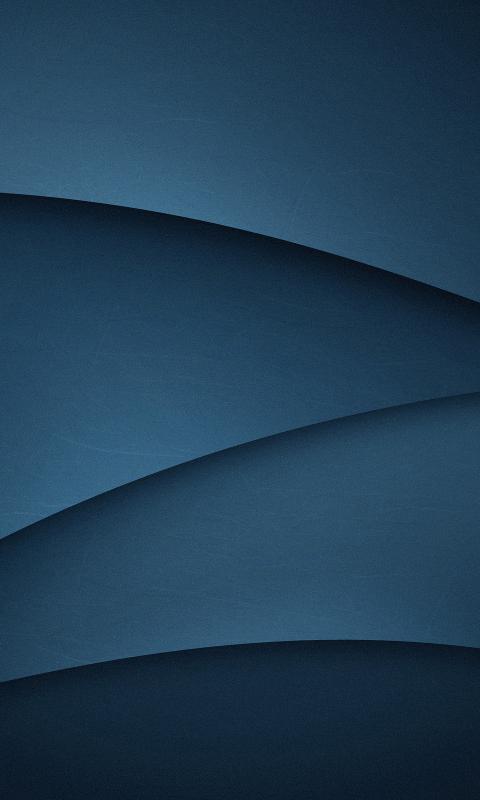 Download 480x800 Wallpaper Dark Blue Gradient Abstract Wave