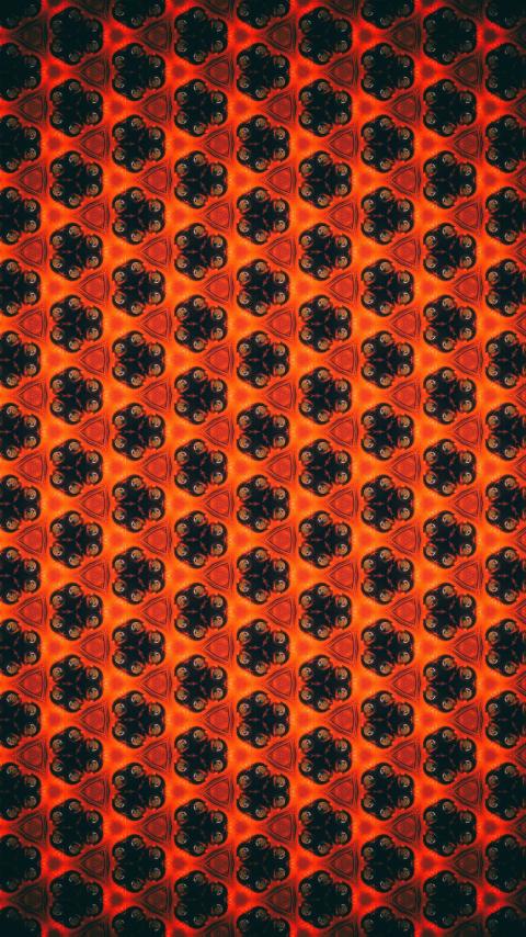 Patterns flowers shapes 5k