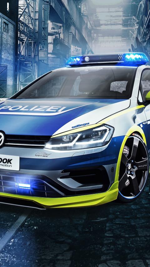 Oettinger Volkswagen Golf 400r, tune it safe, car, 480x854 wallpaper