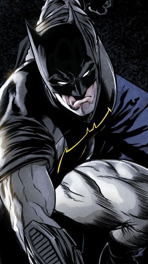 Comics, batman, dark knight, superhero, 480x854 wallpaper