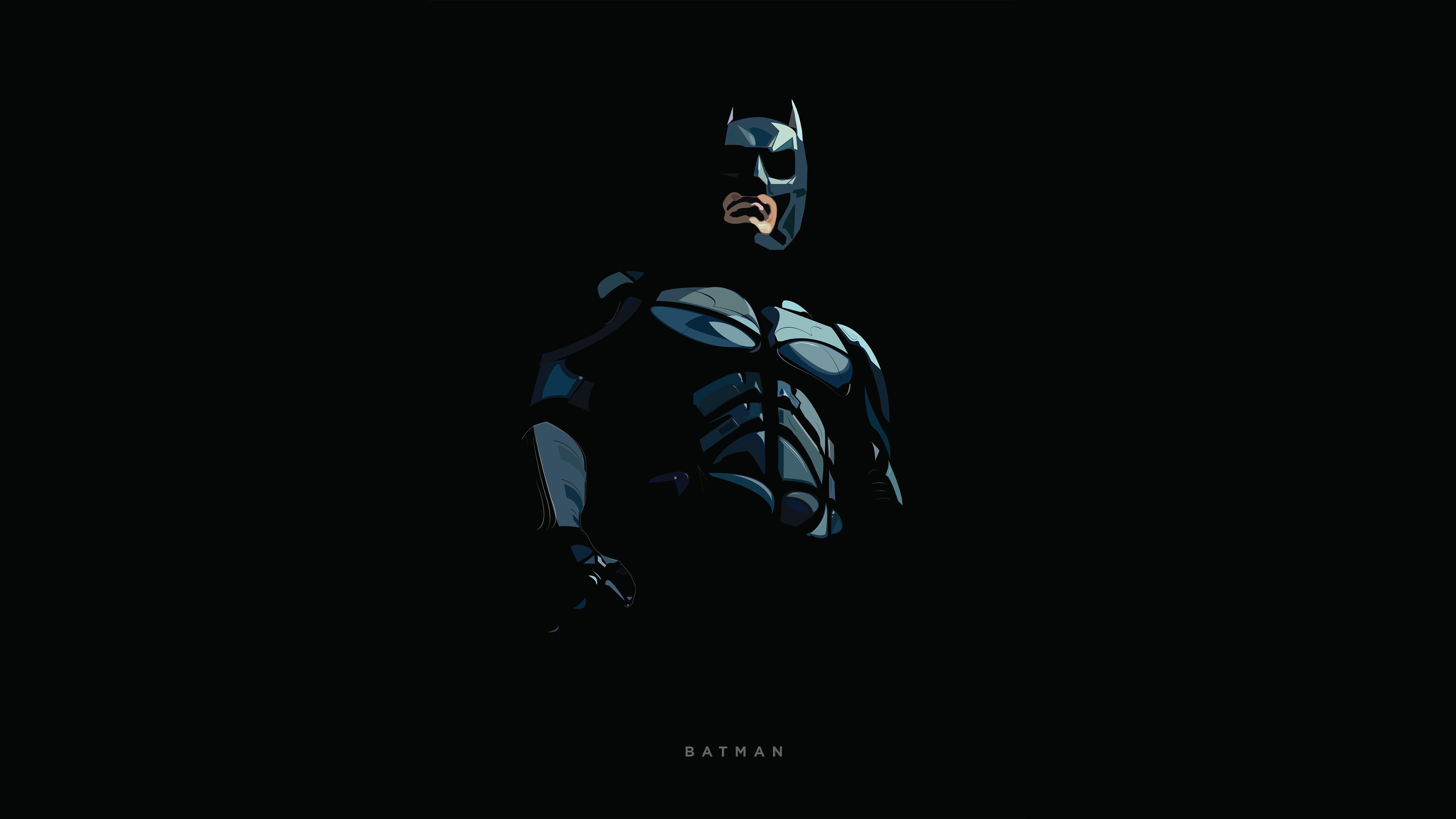 Download 5120x2880 Wallpaper Batman Minimal Artwork 5k