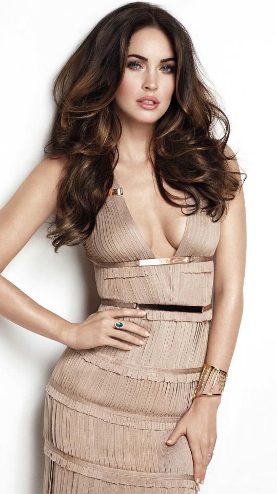Megan fox, hot model, actress, celebrity, 540x960 wallpaper