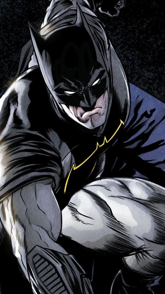 Comics, batman, dark knight, superhero, 540x960 wallpaper