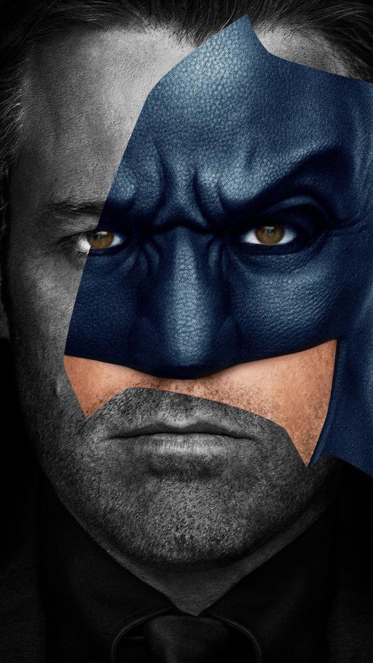 Batman, Ben Affleck, justice league, movie, 540x960 wallpaper