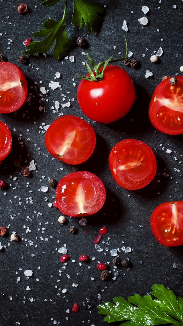 Tomato, vegetables, kitchen, 720x1280 wallpaper