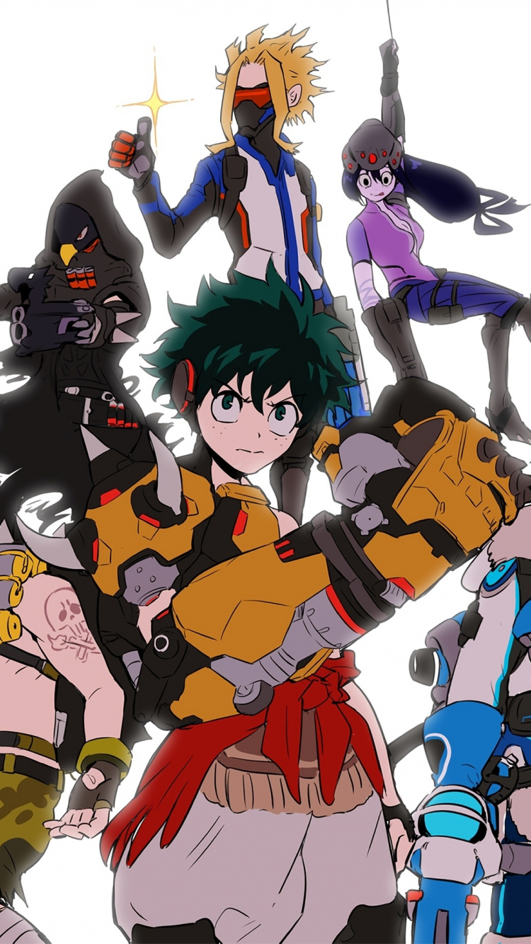 Download 750x1334 Wallpaper Anime Boku No Hero Academia