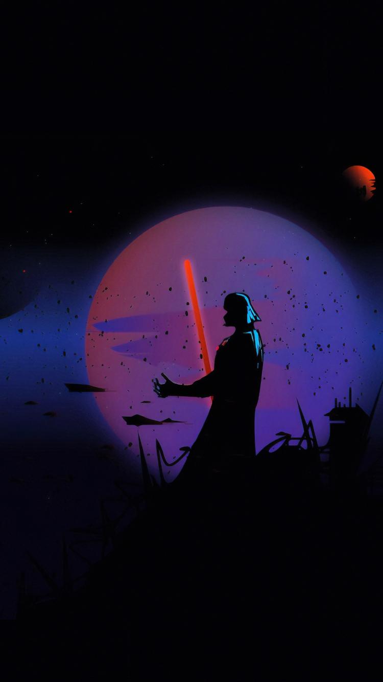 star wars darth vader digital art