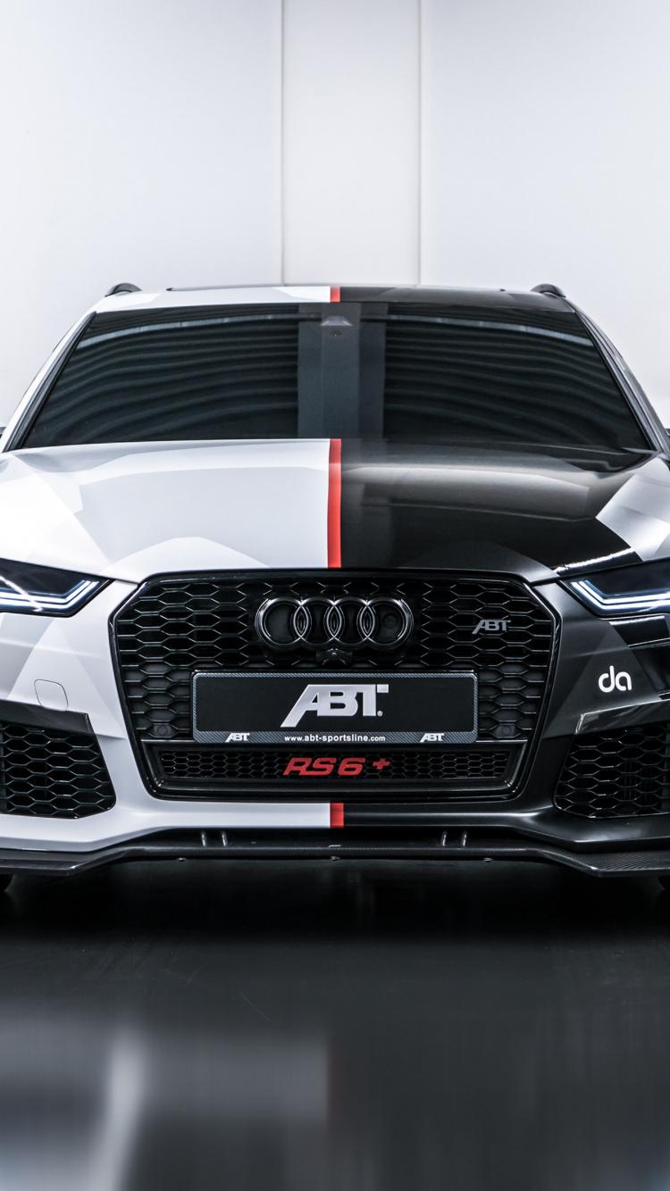 Download 750x1334 Wallpaper 2018 Abt Audi Rs6 Avant Jon Olsson