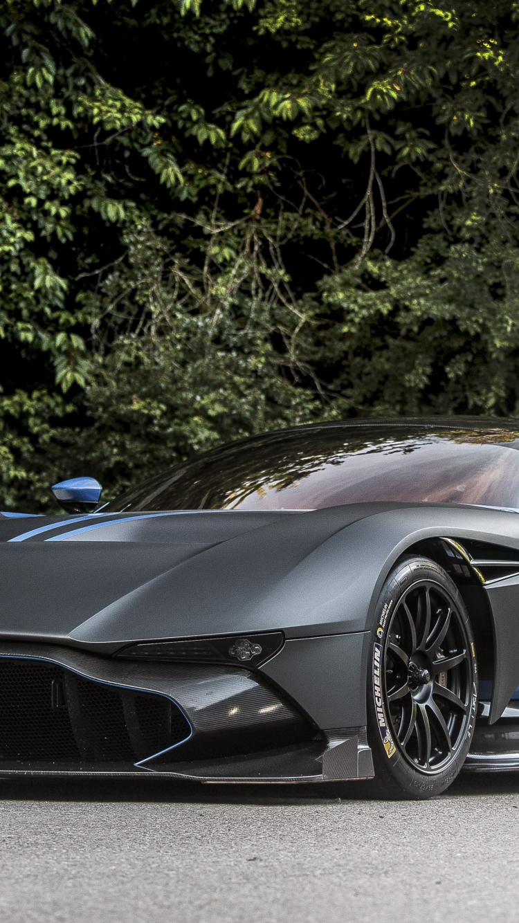 Download 750x1334 Wallpaper Aston Martin Vulcan Sprots Car Front Gray Iphone 7 Iphone 8 750x1334 Hd Image Background 3308