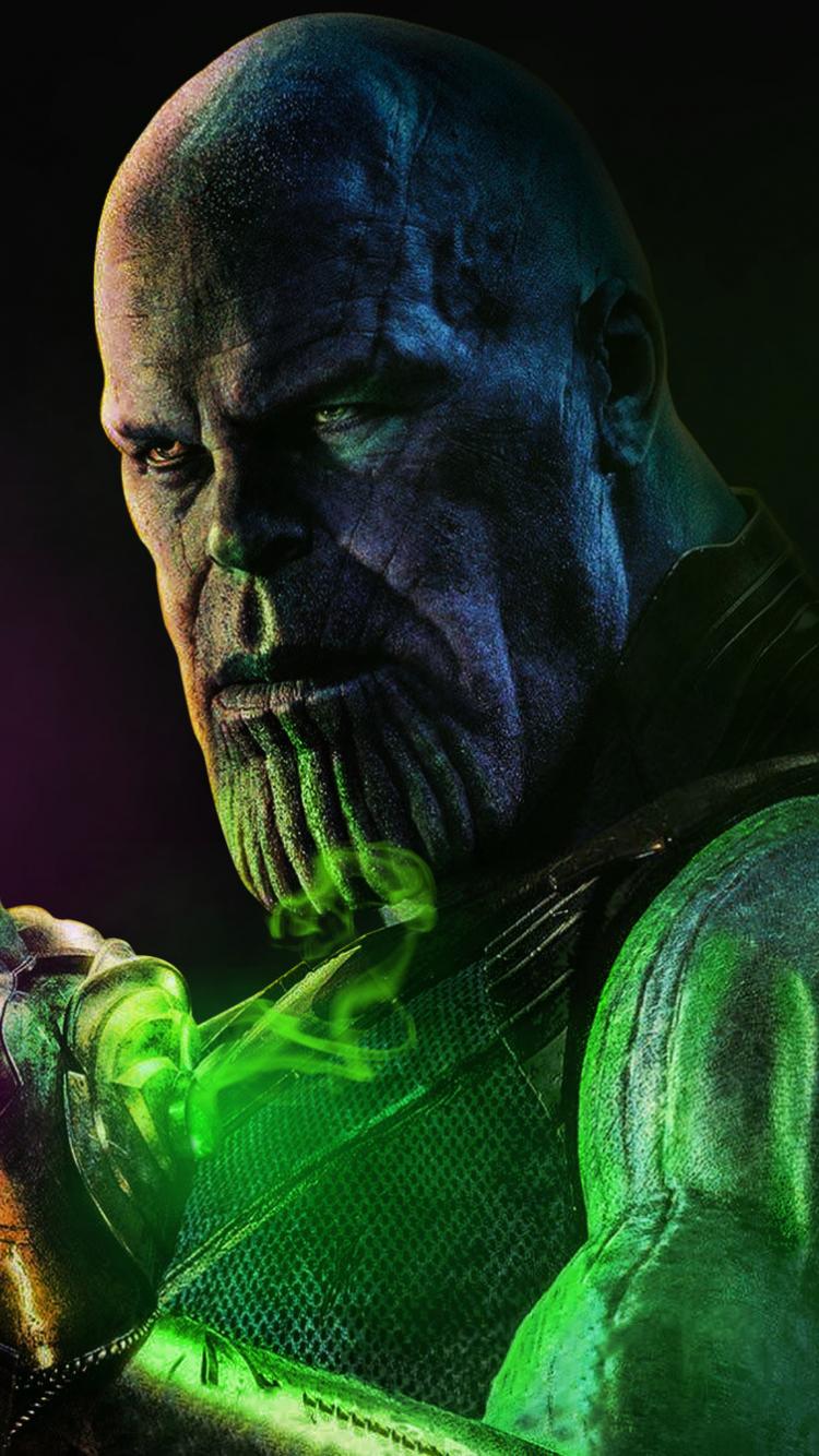 Thanos With Infinity Stones Artwork Super Villain X Wallpaper