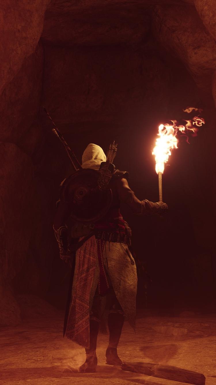 Download 750x1334 Wallpaper Inside The Cave Assassin S