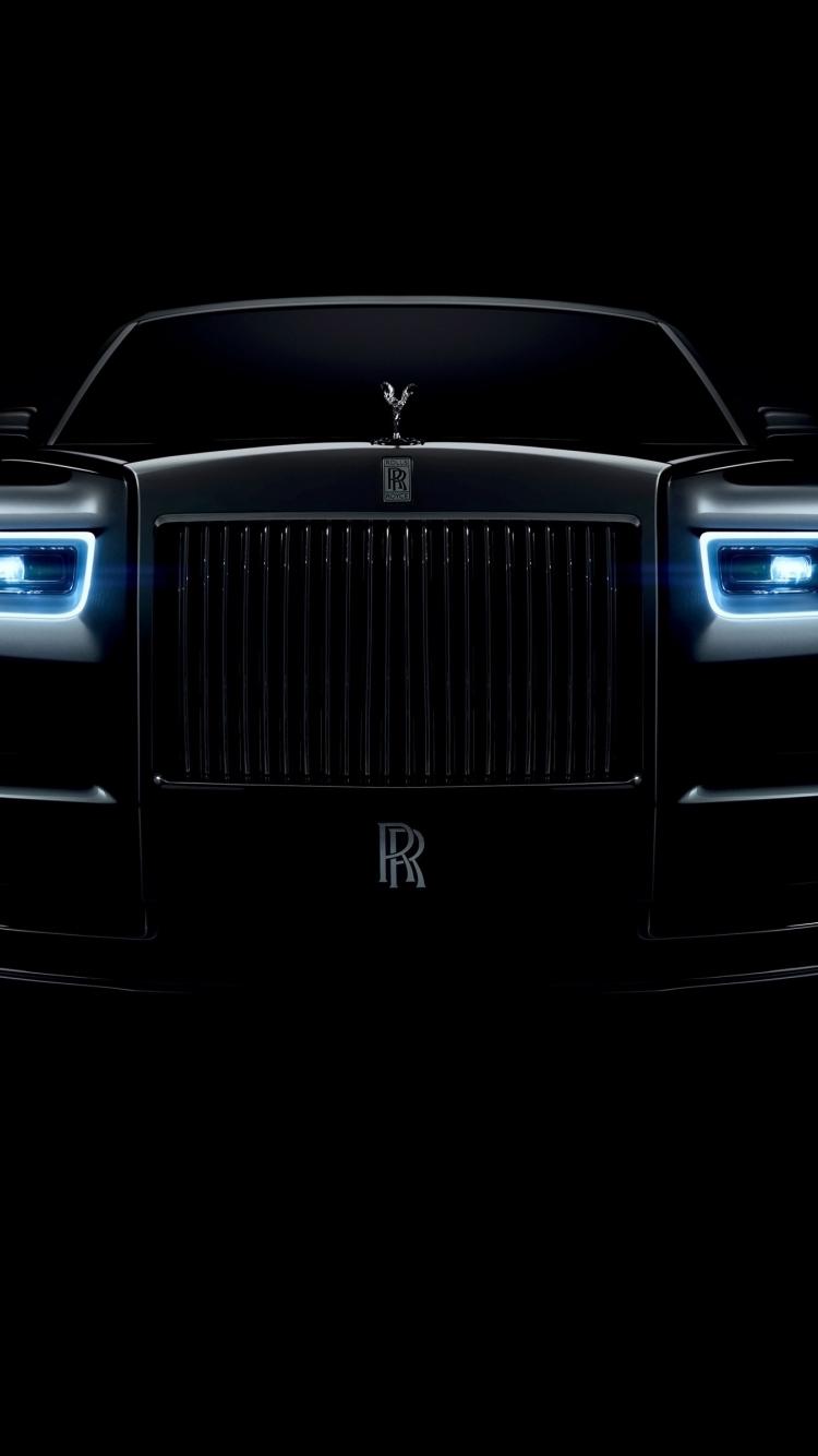 Download 750x1334 Wallpaper Rolls Royce Phantom Luxury Car 2018