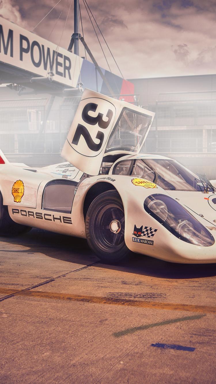 Download 750x1334 Wallpaper Porsche 917 Sports Car Iphone
