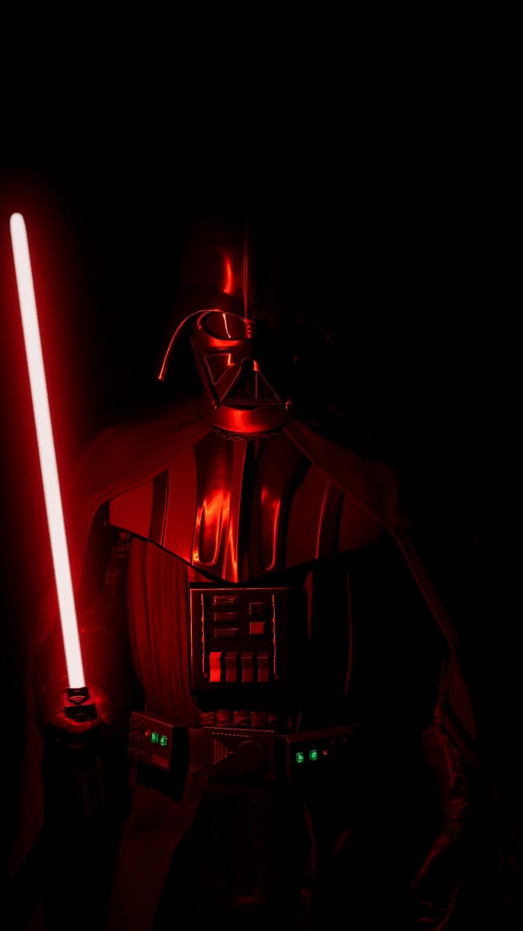 Download 750x1334 Wallpaper Darth Vader Villain Dark 2019