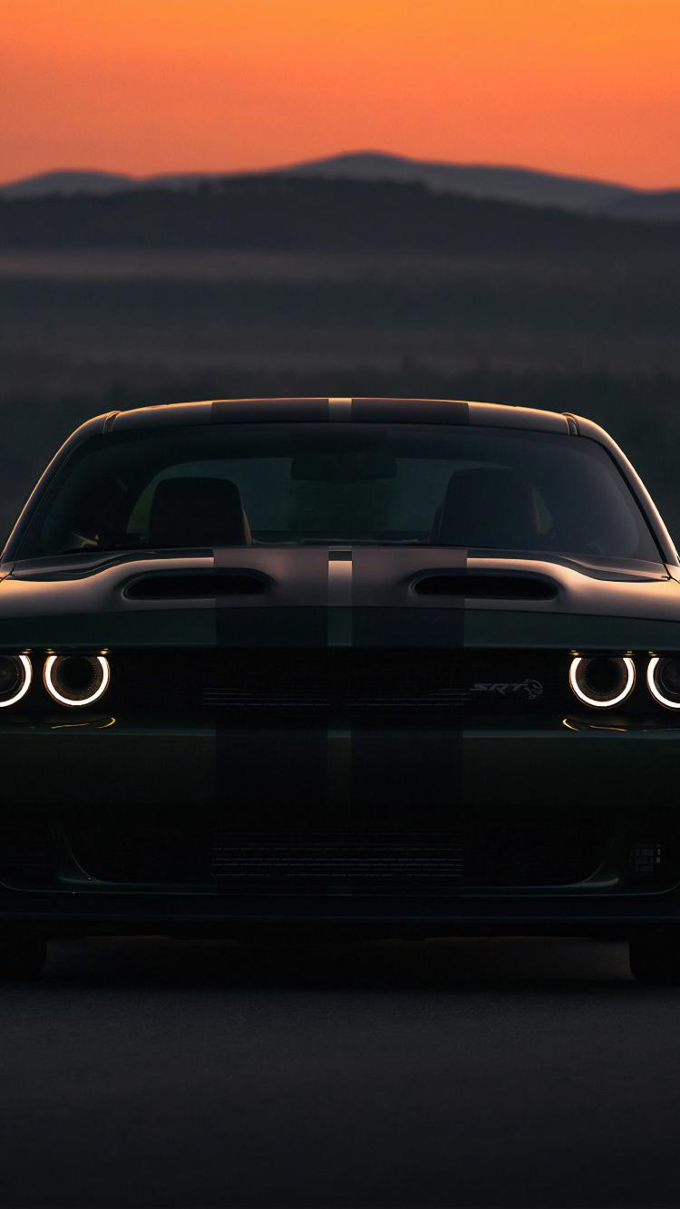 Download 750x1334 Wallpaper Dodge Charger Srt Hellcat Dark 2019 Iphone 7 Iphone 8 750x1334 Hd Image Background 21945