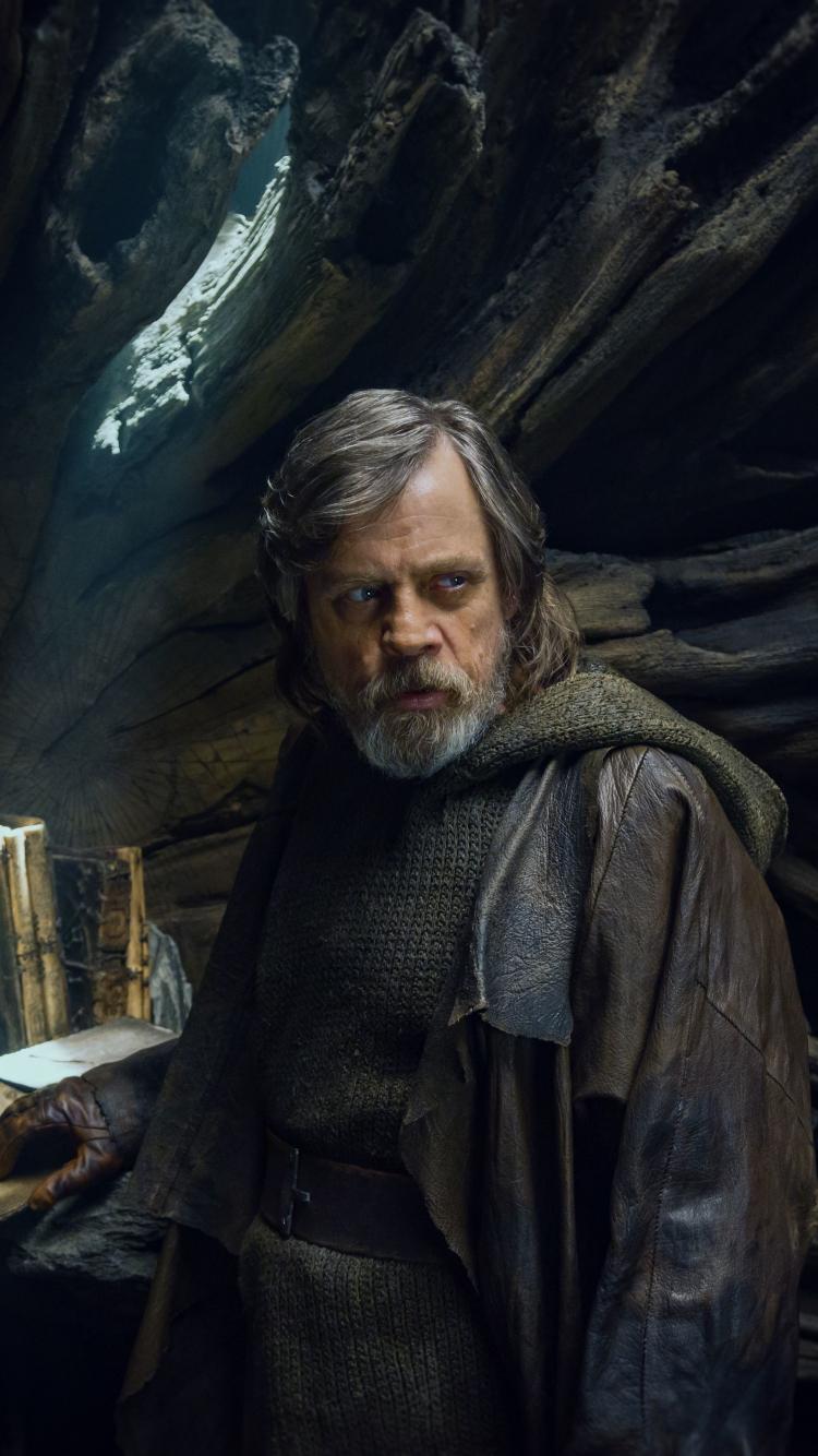 Download 750x1334 Wallpaper Star Wars The Last Jedi Luke Skywalker Mark Hamill 2017 Movie Iphone 7 Iphone 8 750x1334 Hd Image Background 1216